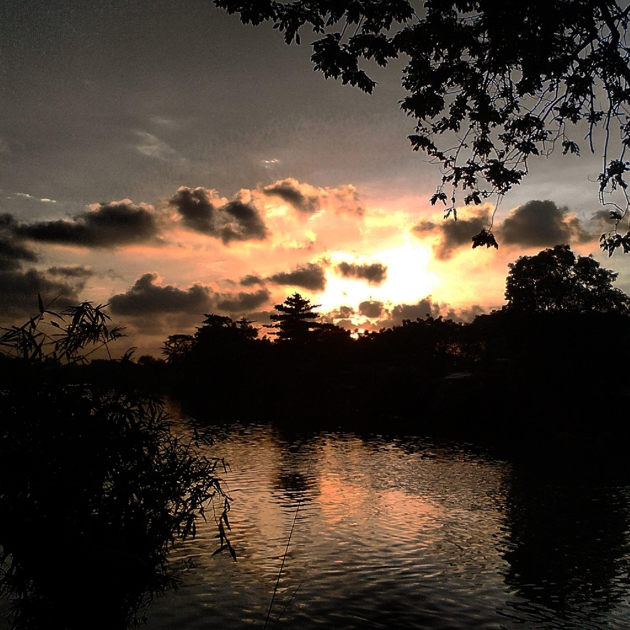 Photo in Nature #sunset river rachmanliving