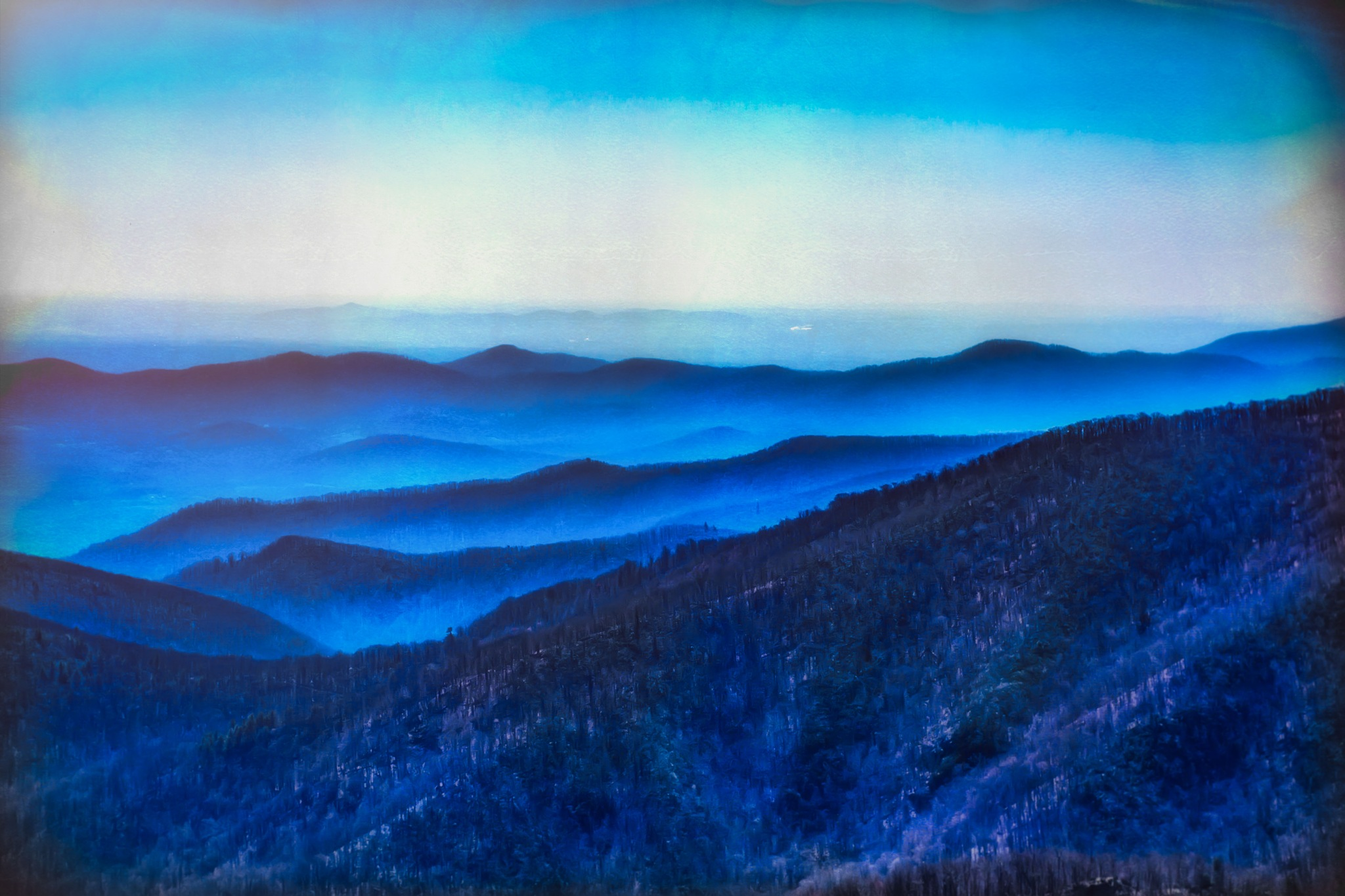 Blueridge Mountains by Chris Rand