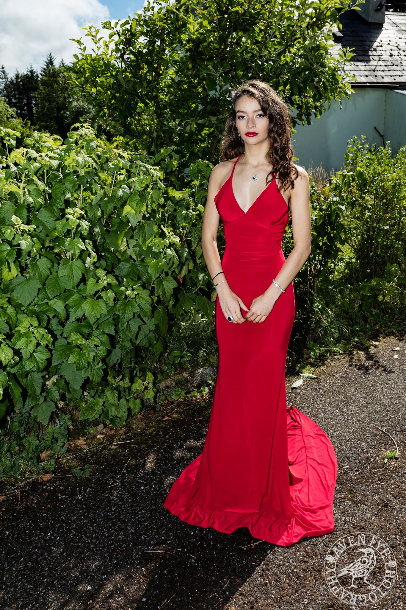 Lady in Red by Declan Byrne