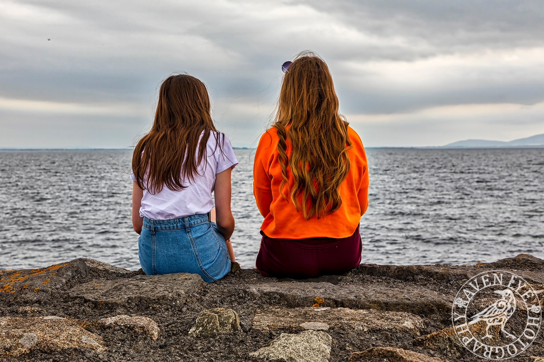 Looking Out to Sea by Declan Byrne