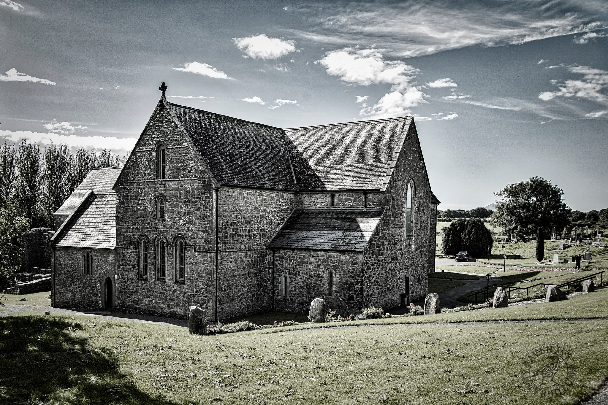 Ballintubber Abbey by Declan Byrne