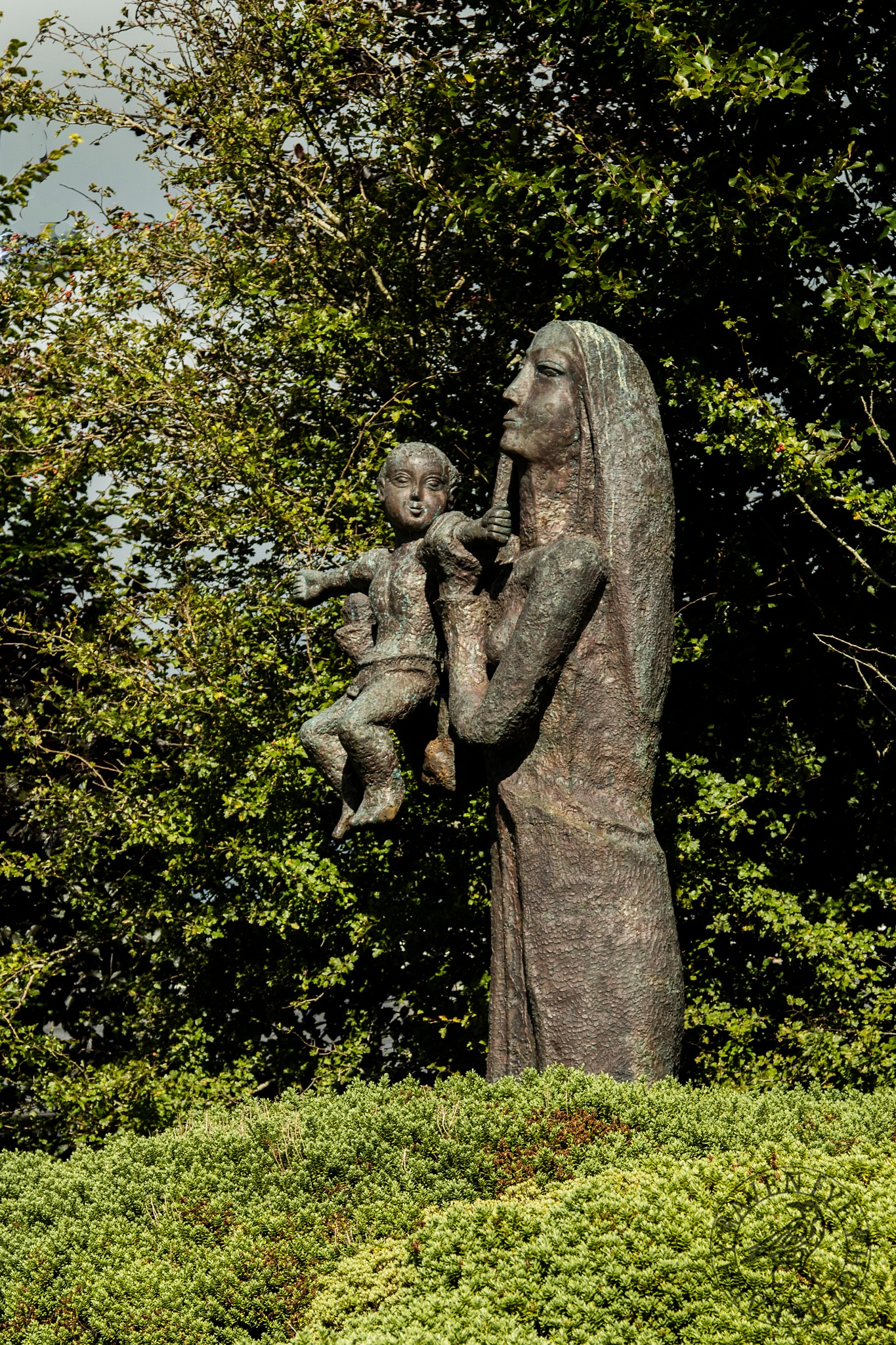 Madonna & Child by Declan Byrne