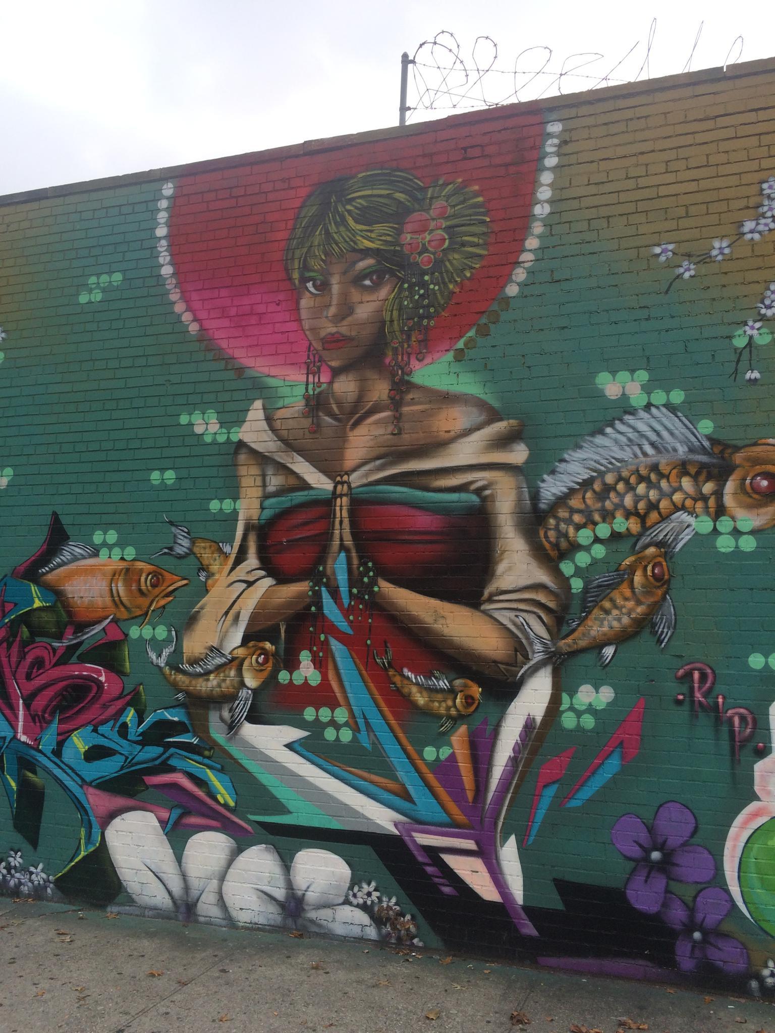 Ravenswood Street Art by Owen Kelly