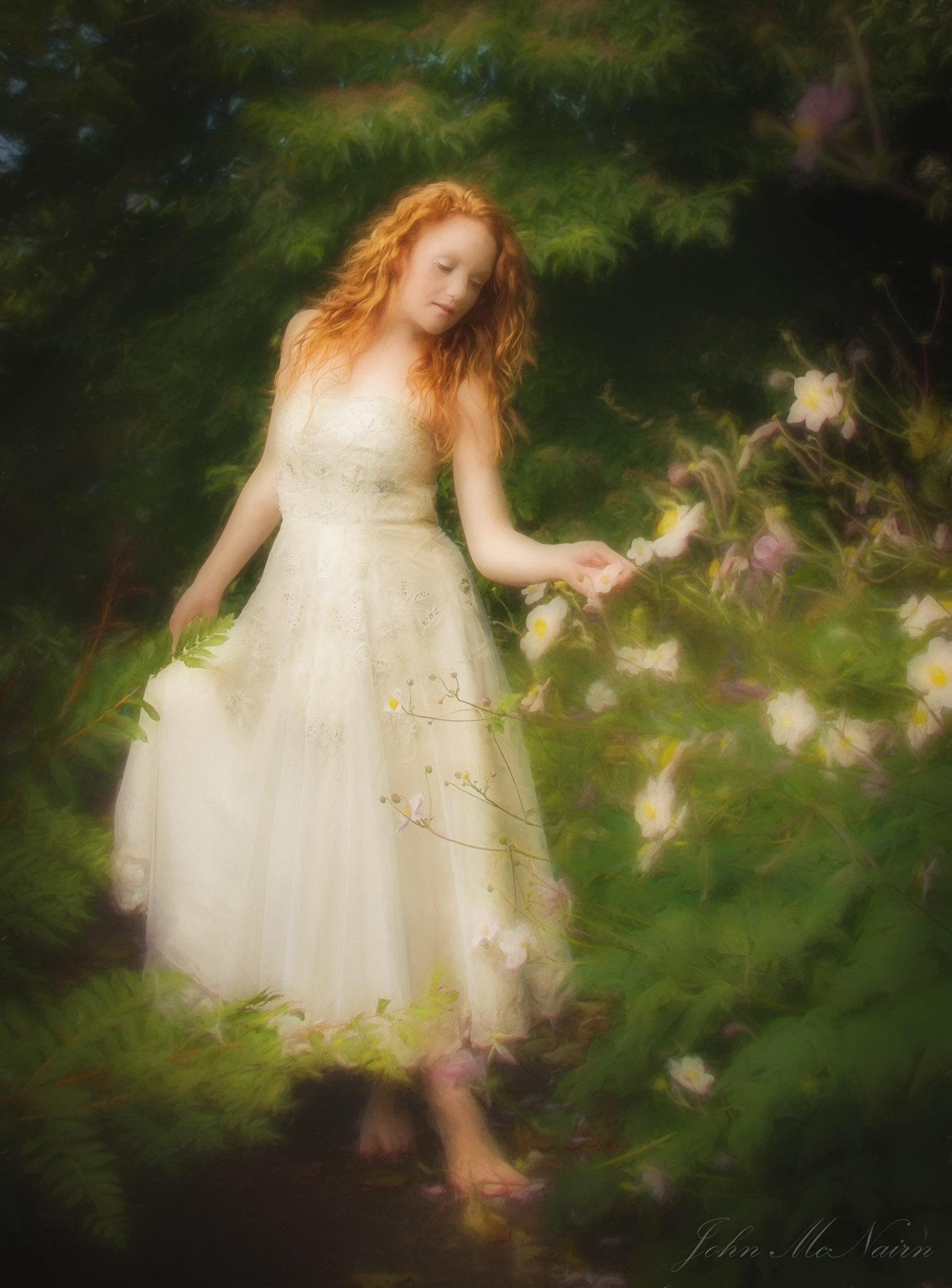 The Flower Tender by John McNairn