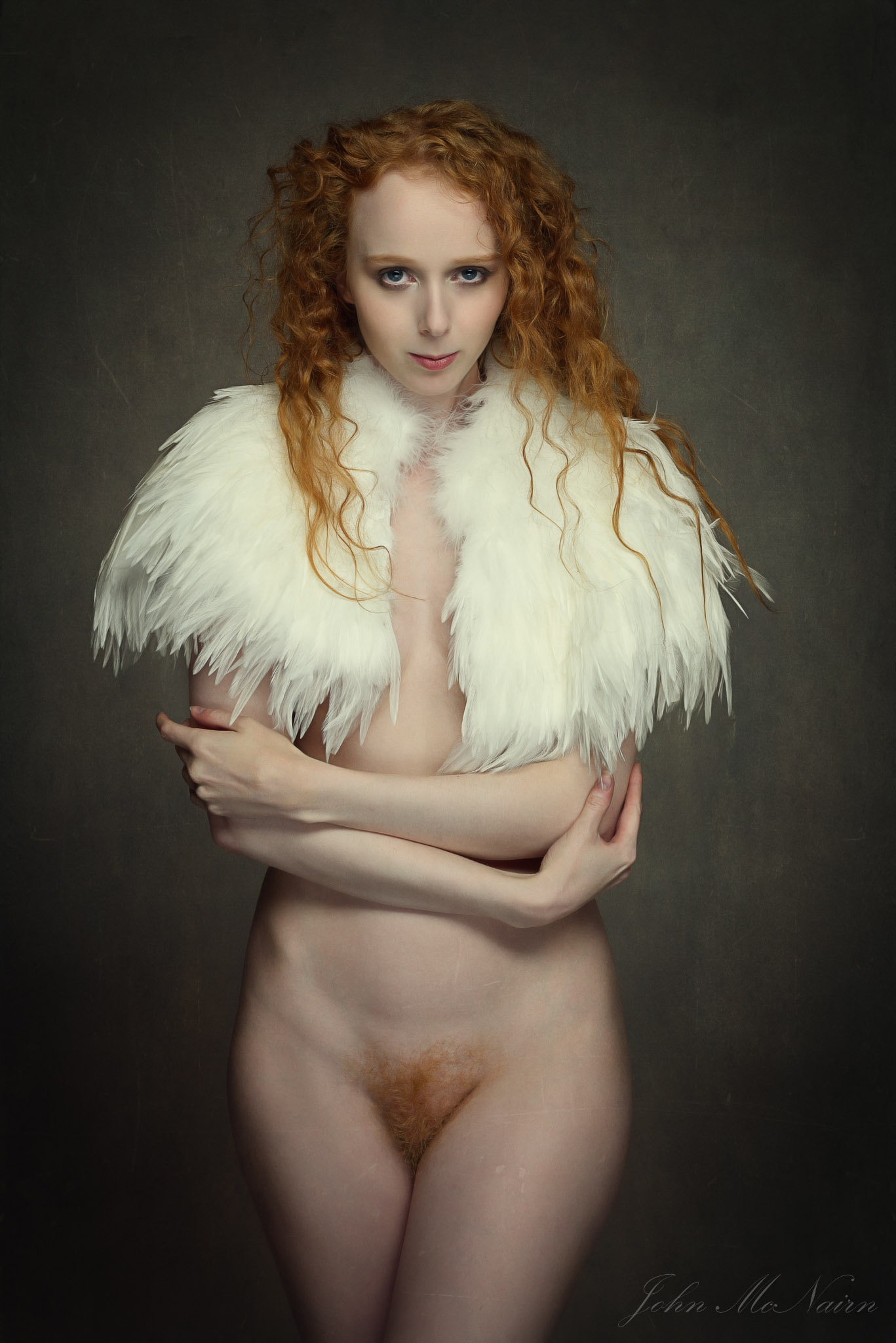 Gemma in Feathers by John McNairn