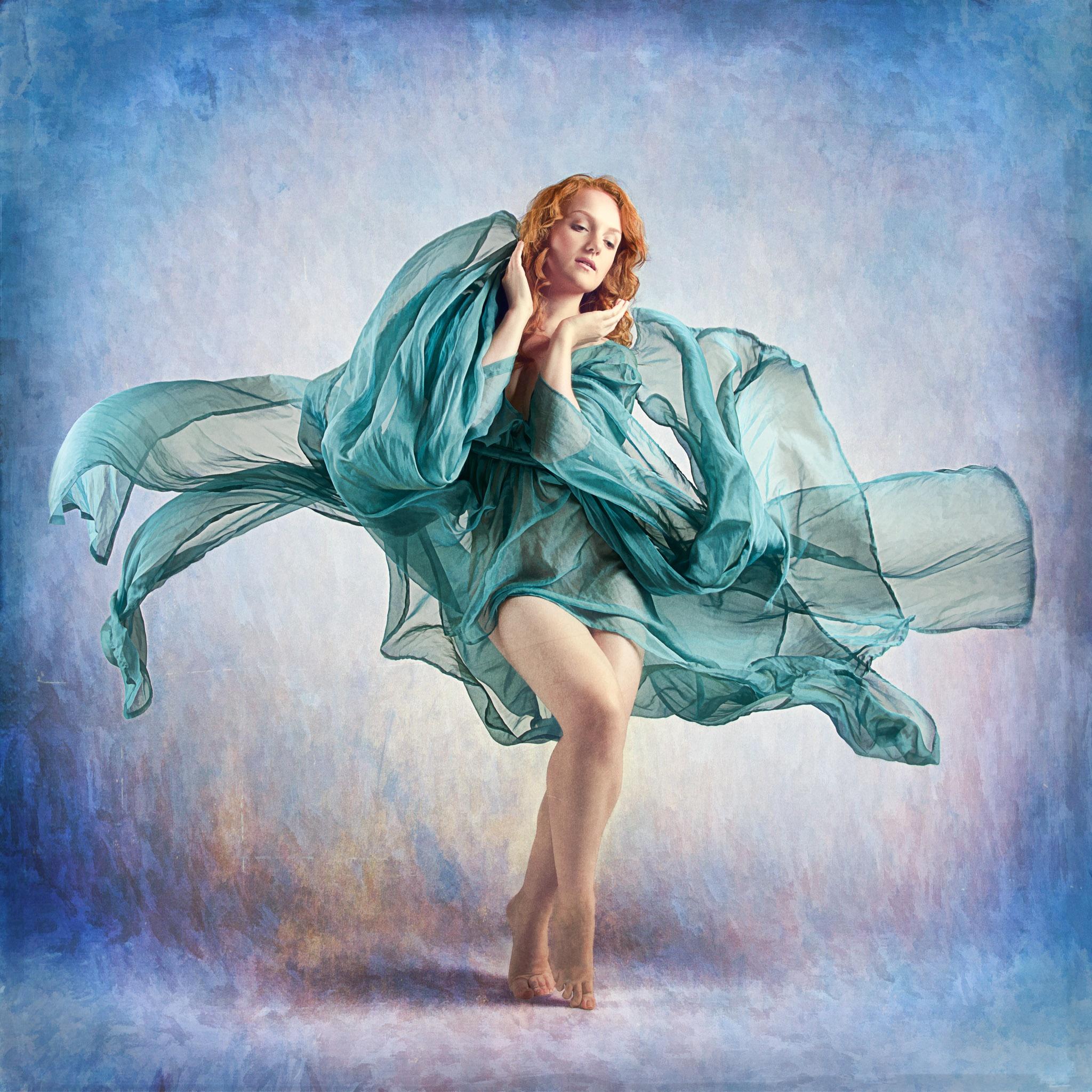 Blue Flames by John McNairn