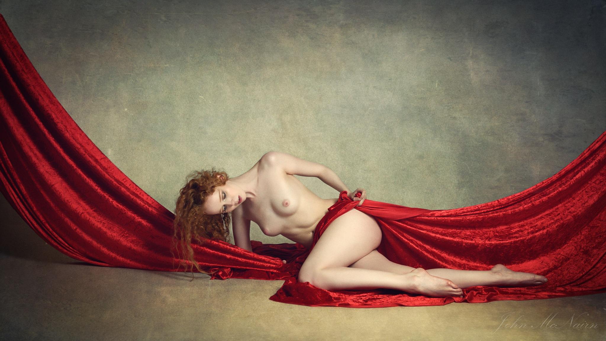 Gemma on Velvet by John McNairn
