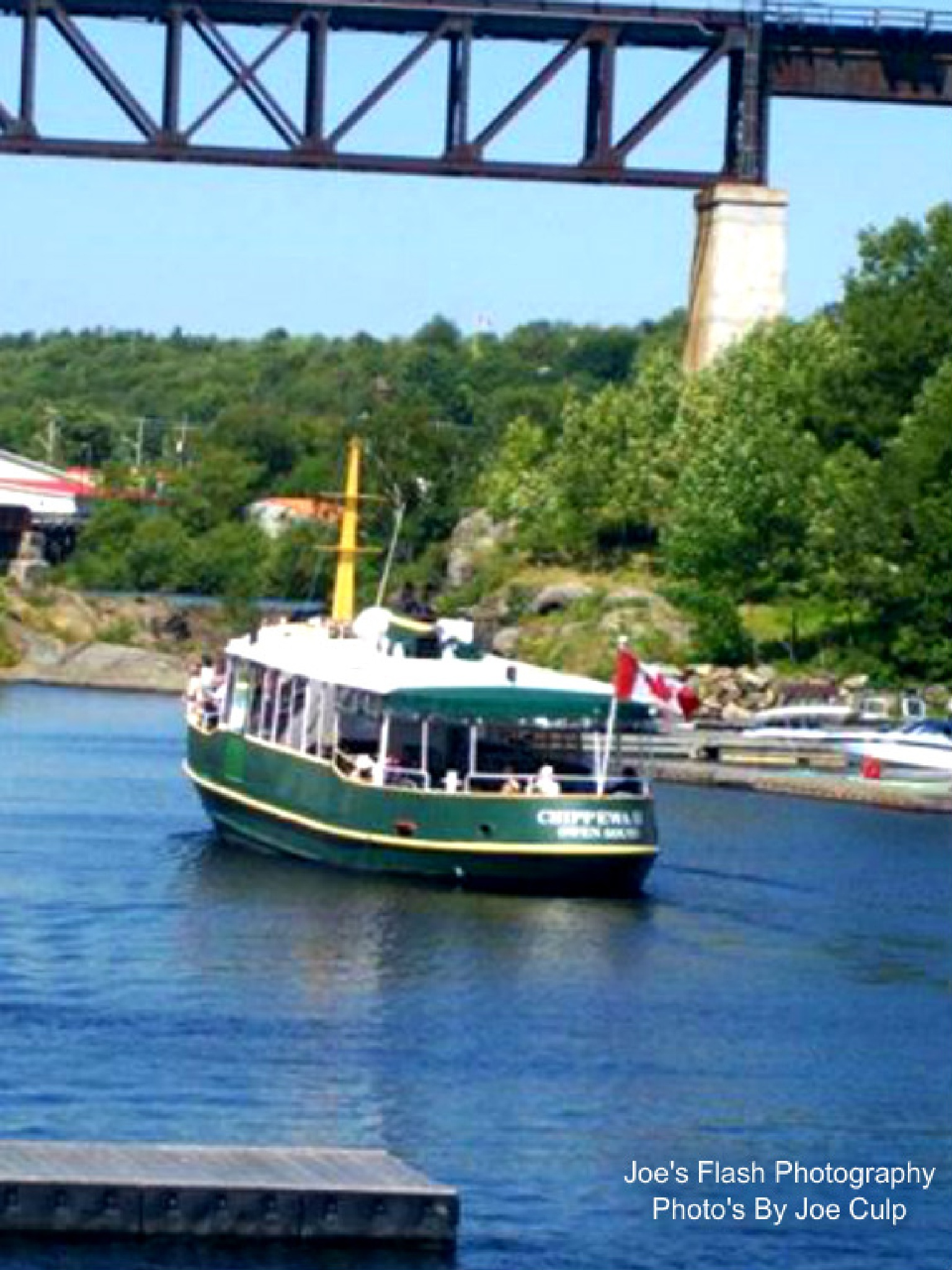 The M.V Chippewa Dinner Cruise Parry Sound Ontario by Joe's Flash Photography...Photo's By Joe Culp