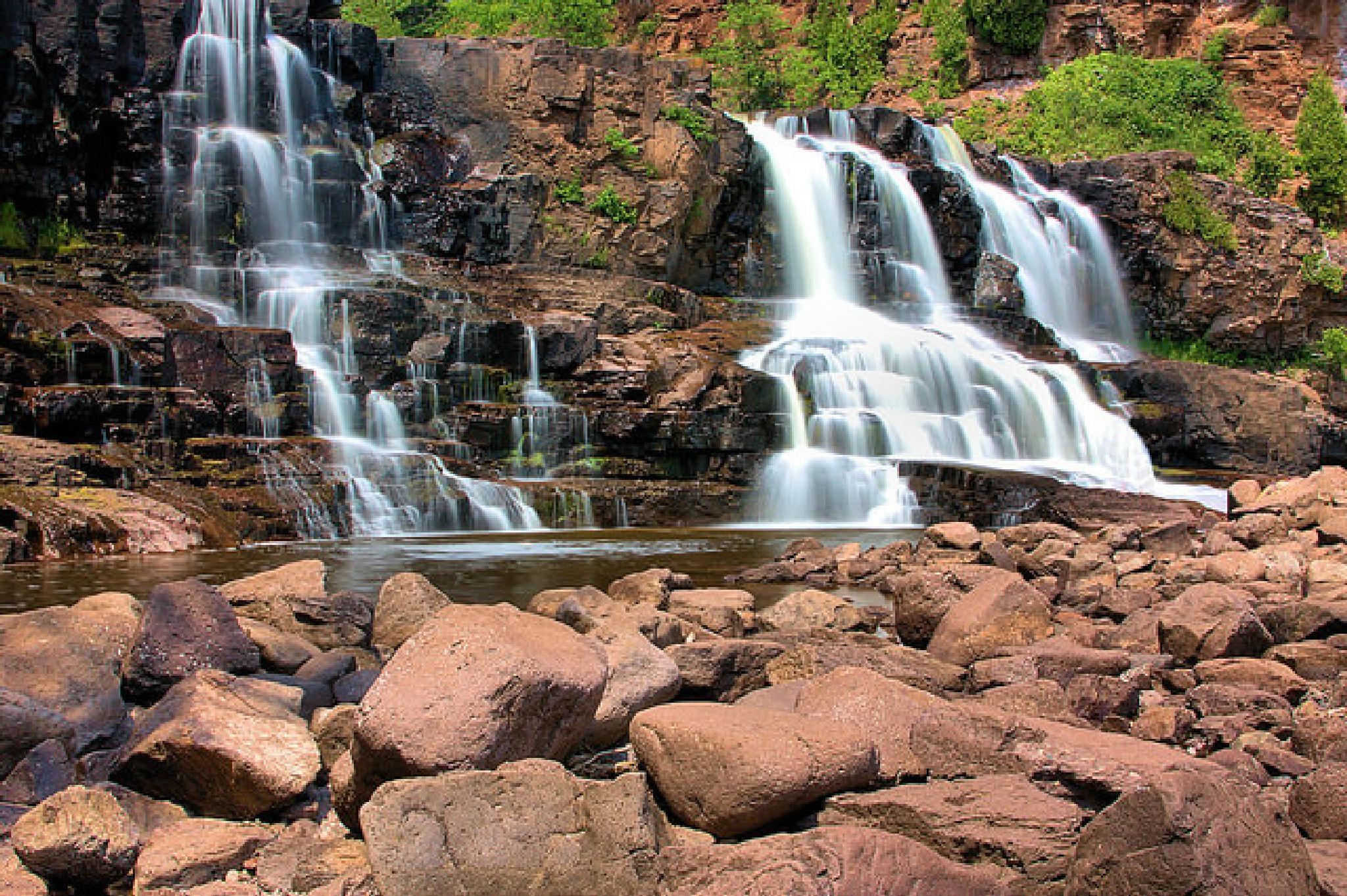 Photo in Landscape #waterfall #minnesota #falls #water #nature #landscape