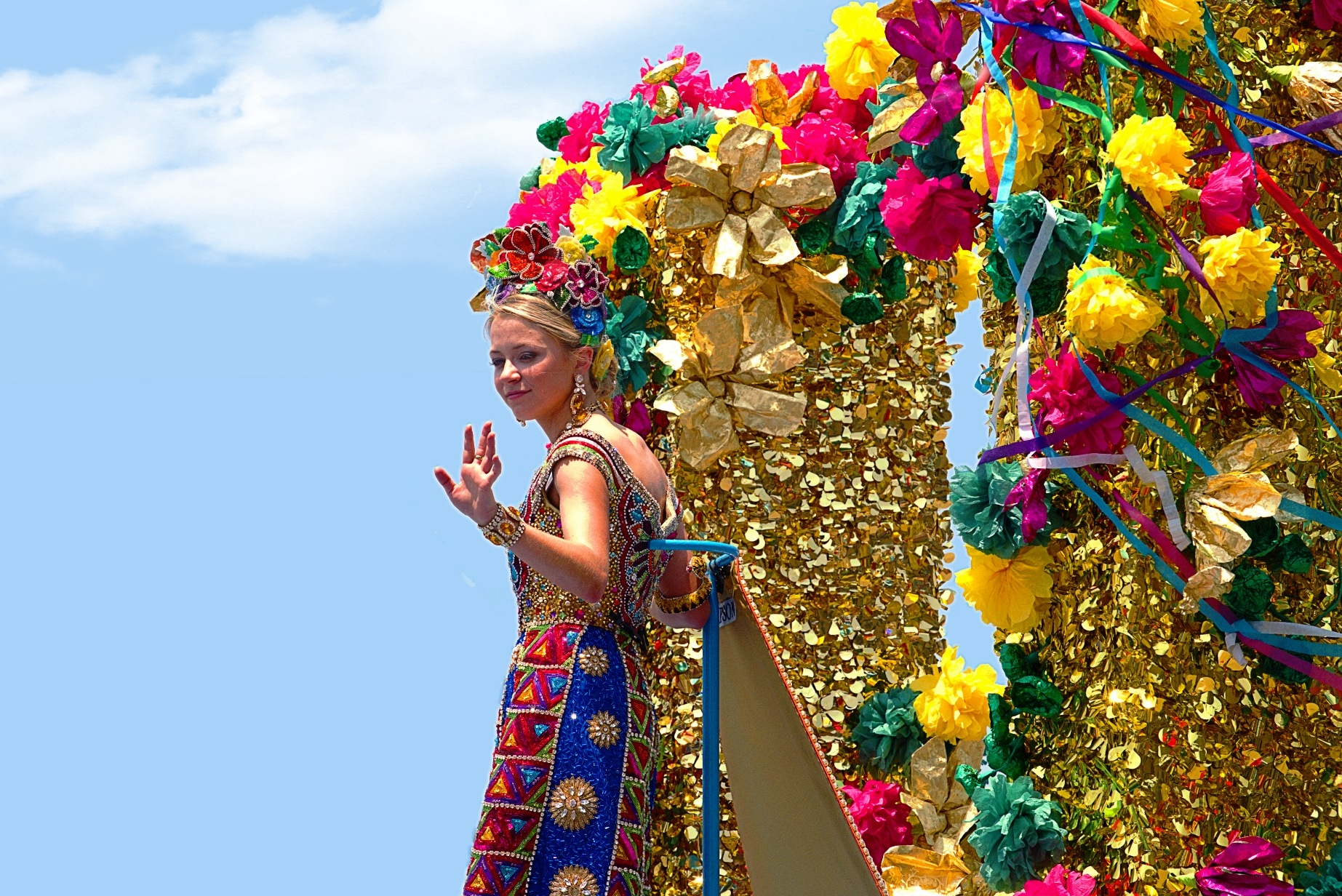 The Flower Parade by Kenny Simpson