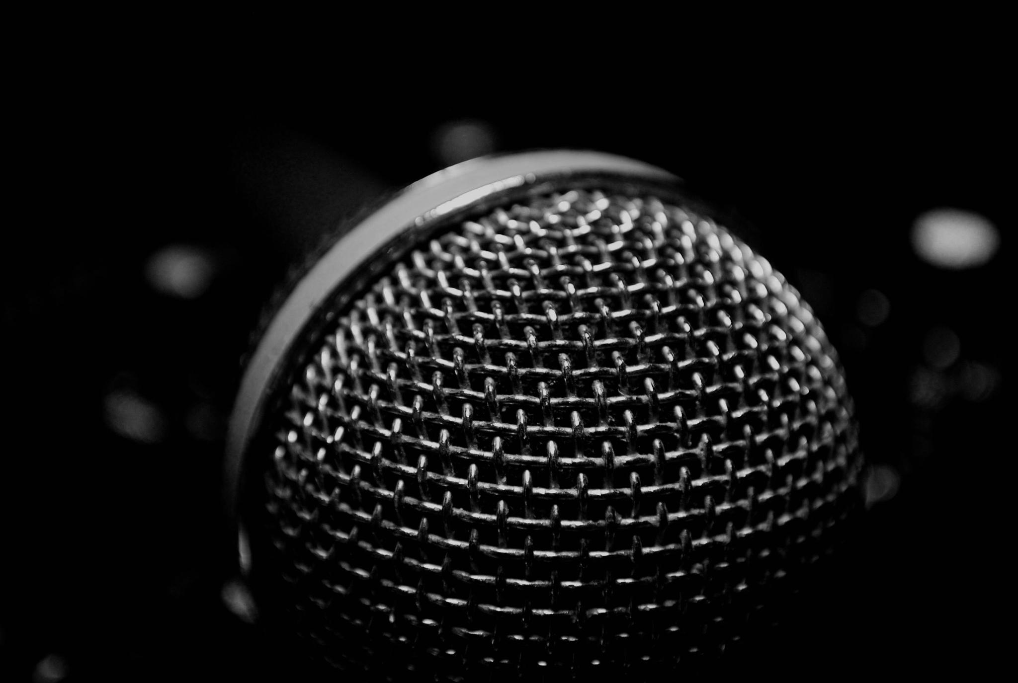 Photo in Macro #mic #music #microphone #sing #play #loud