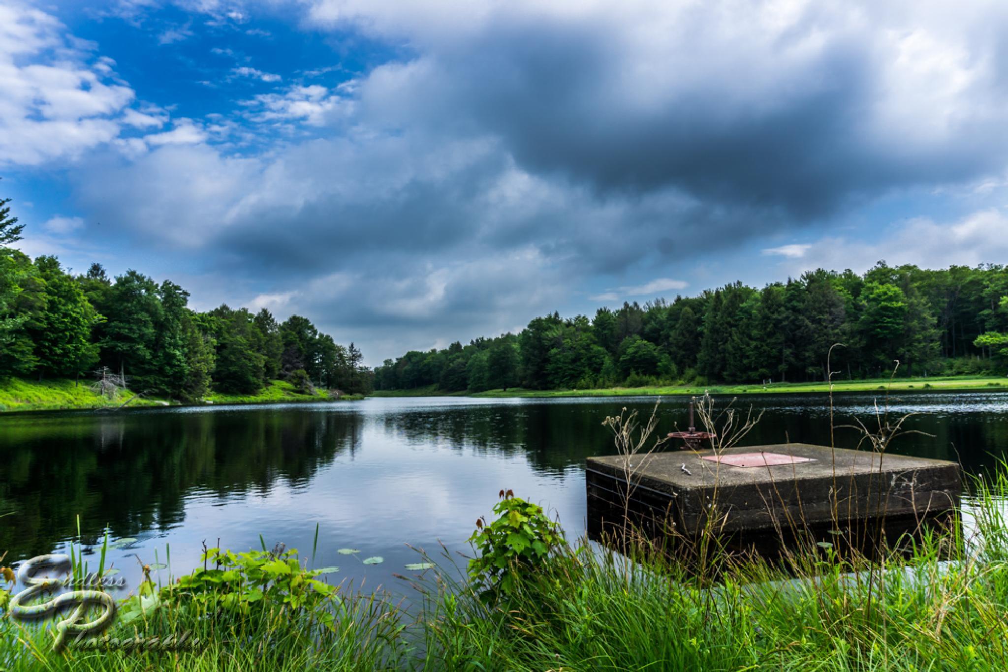 Sky View Lake PA by Antonio Ansioso