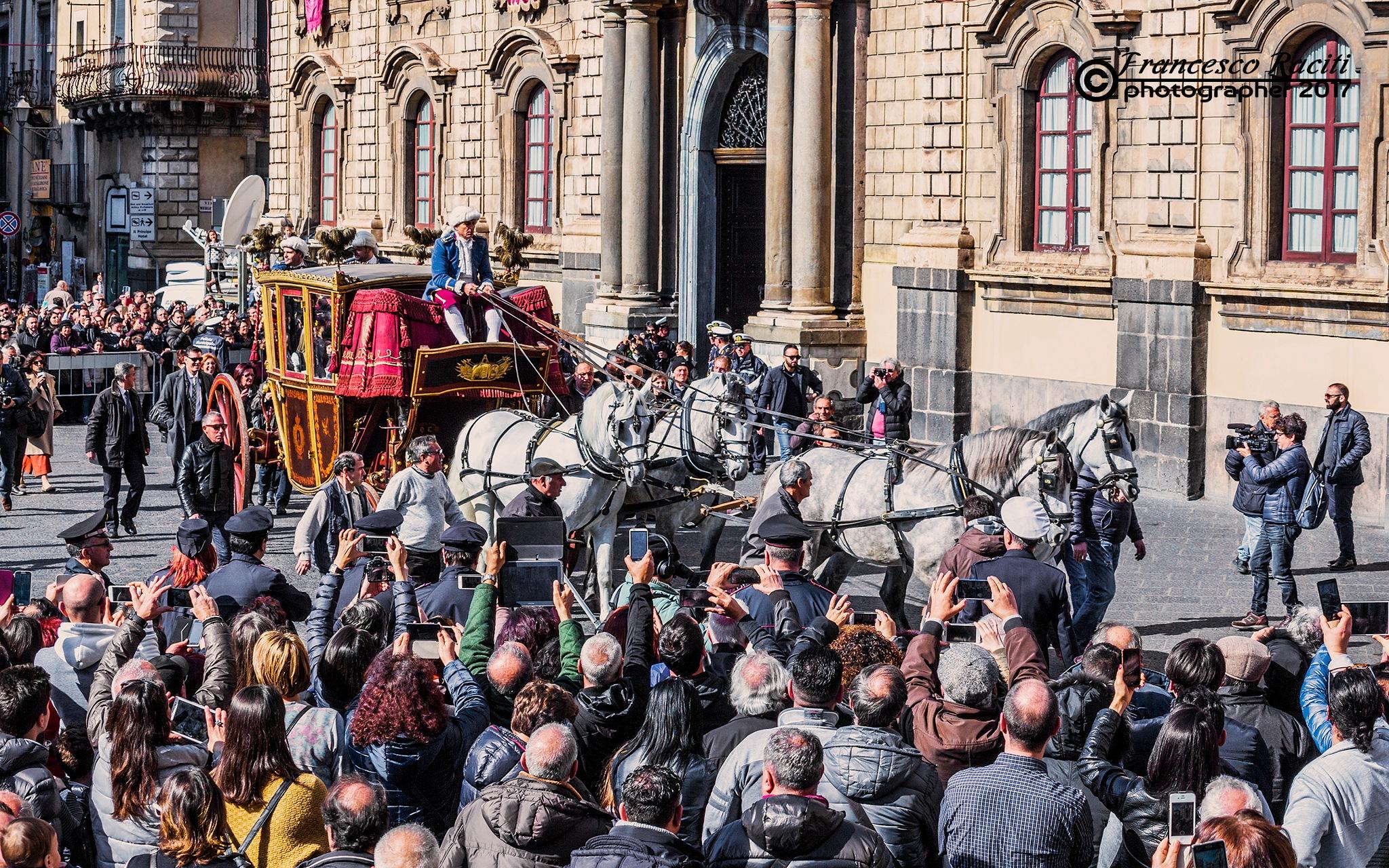 Festivities in honor of Sant'Agata 3 by Francesco Raciti