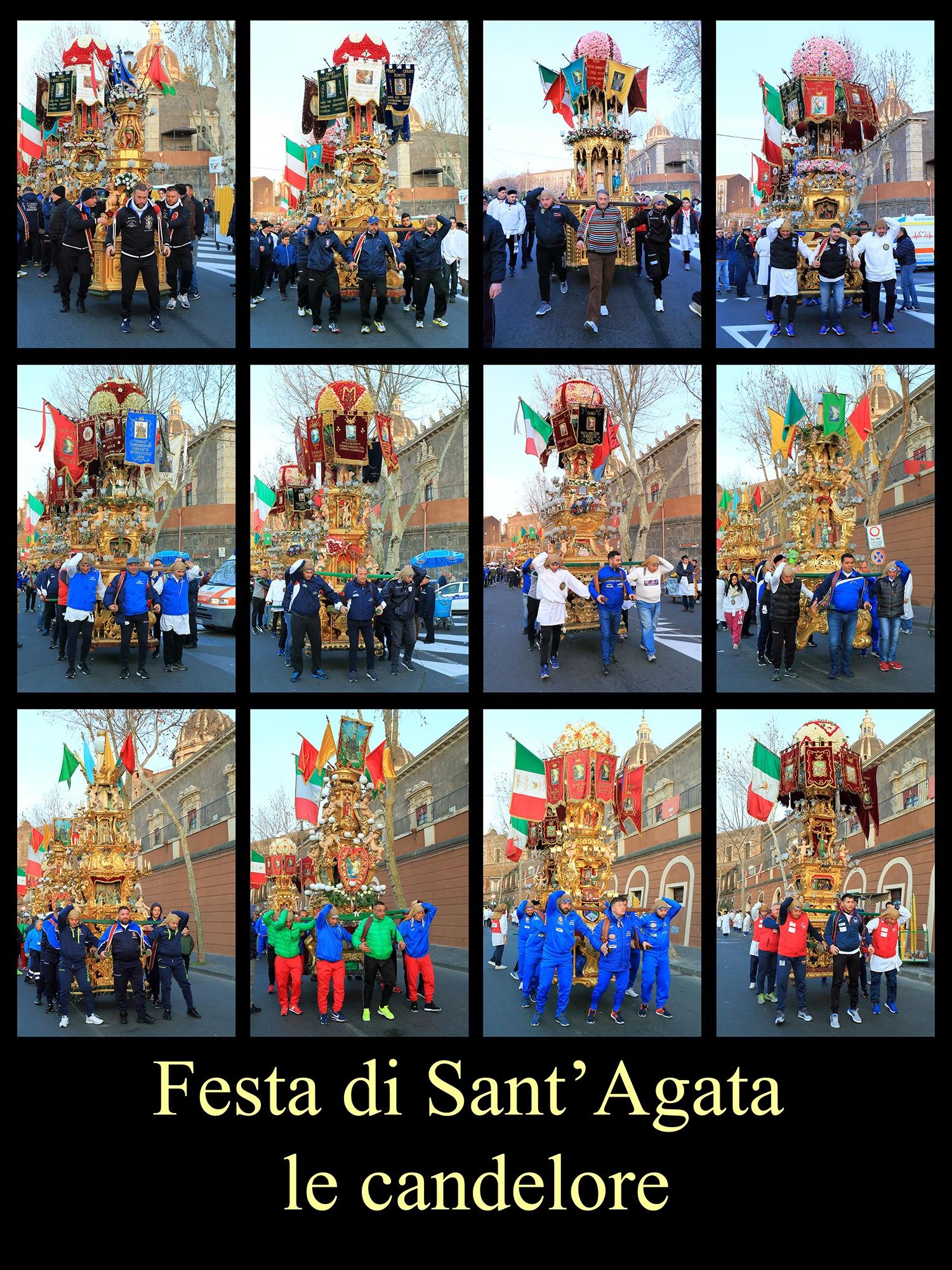 Festivities in honor of Sant'Agata 6 by Francesco Raciti