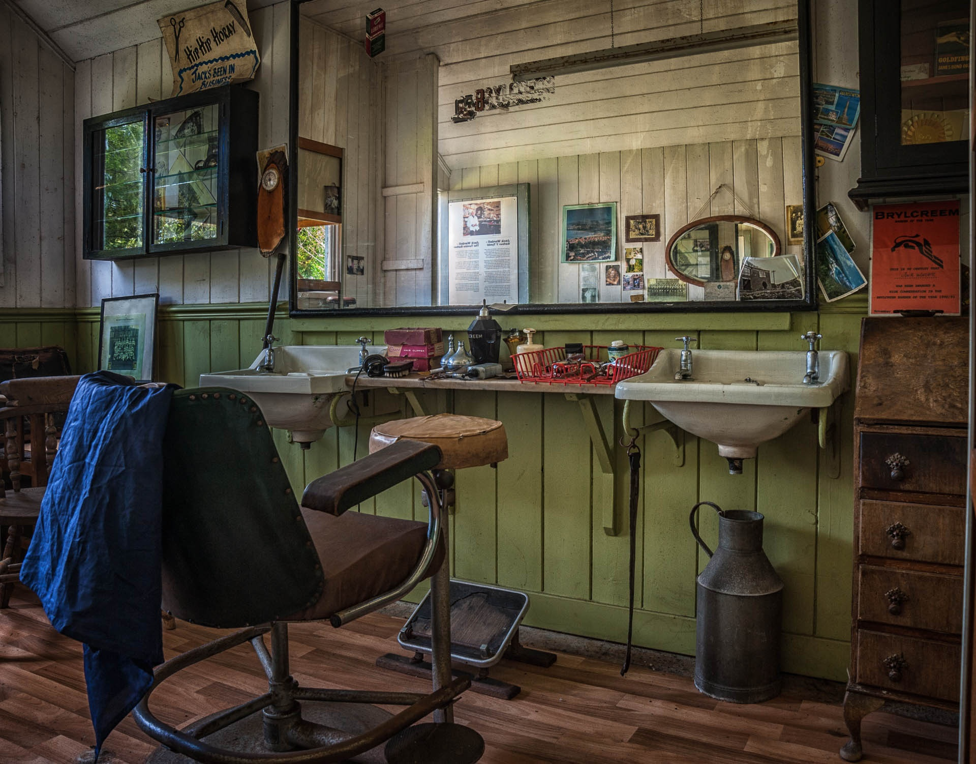 The Barber Shop by Clive Martin
