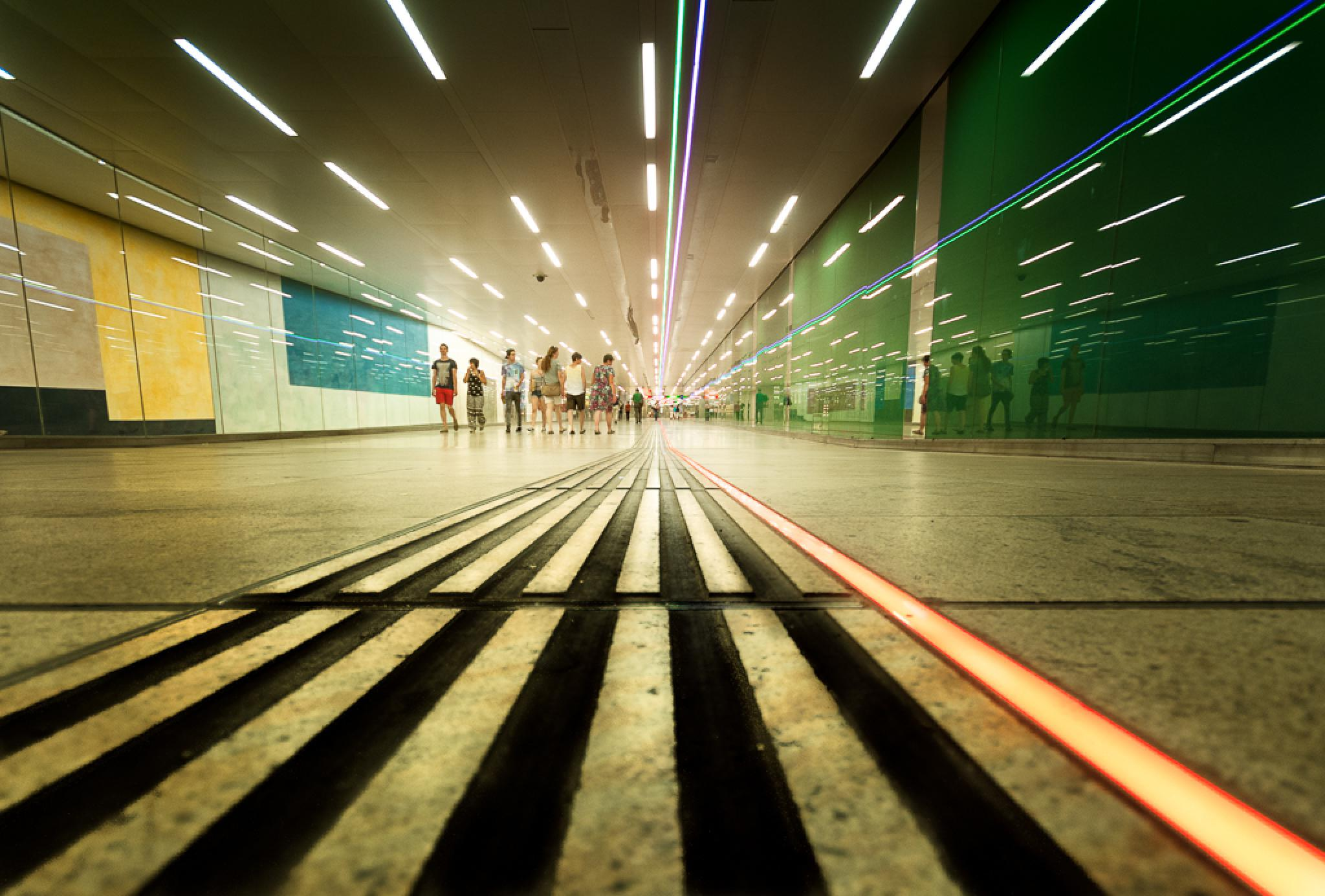 The Underground by Clive Martin