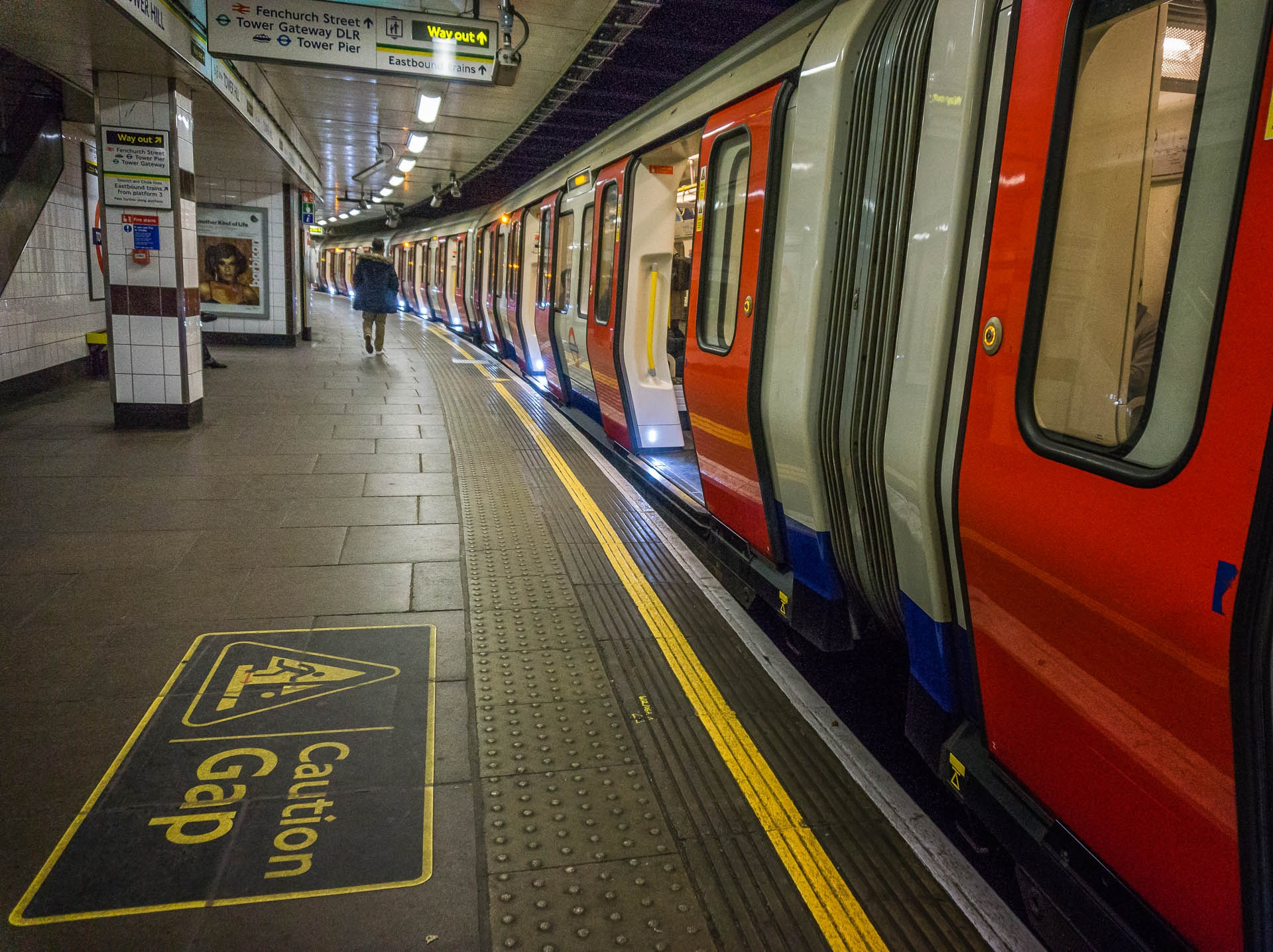 Mind The Gap by Clive Martin