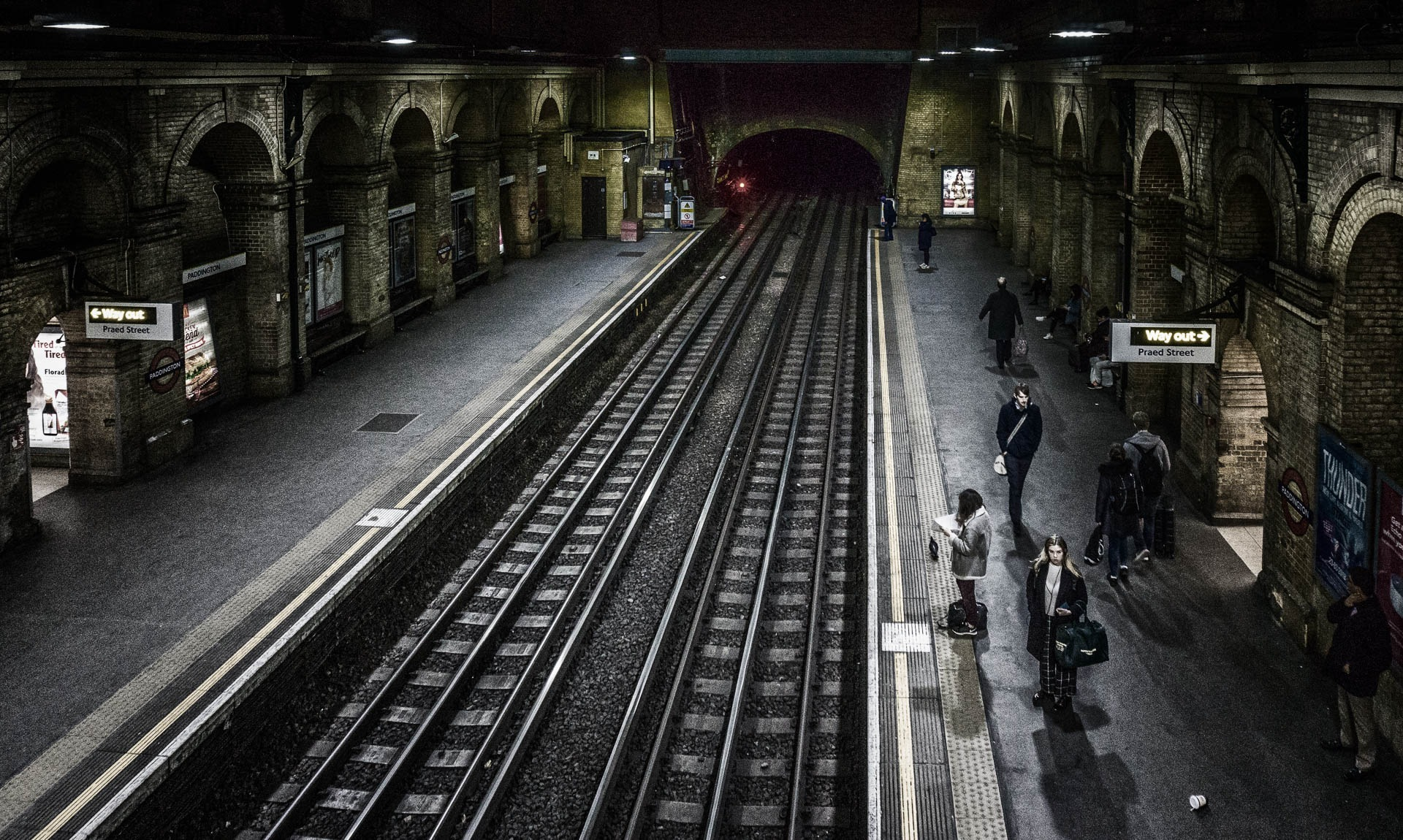 Going Underground by Clive Martin