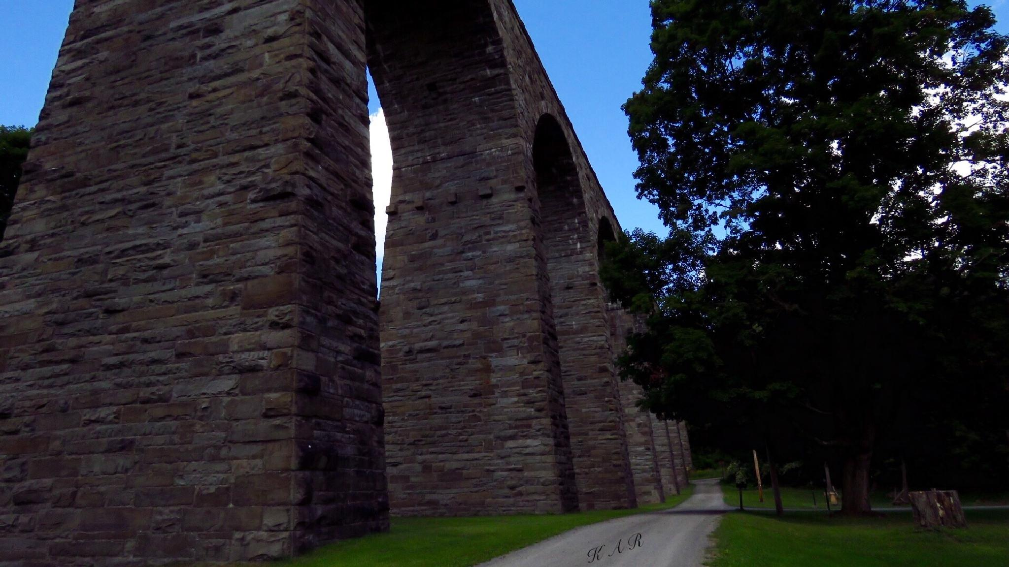 Starrucca Viaduct by Kimberly