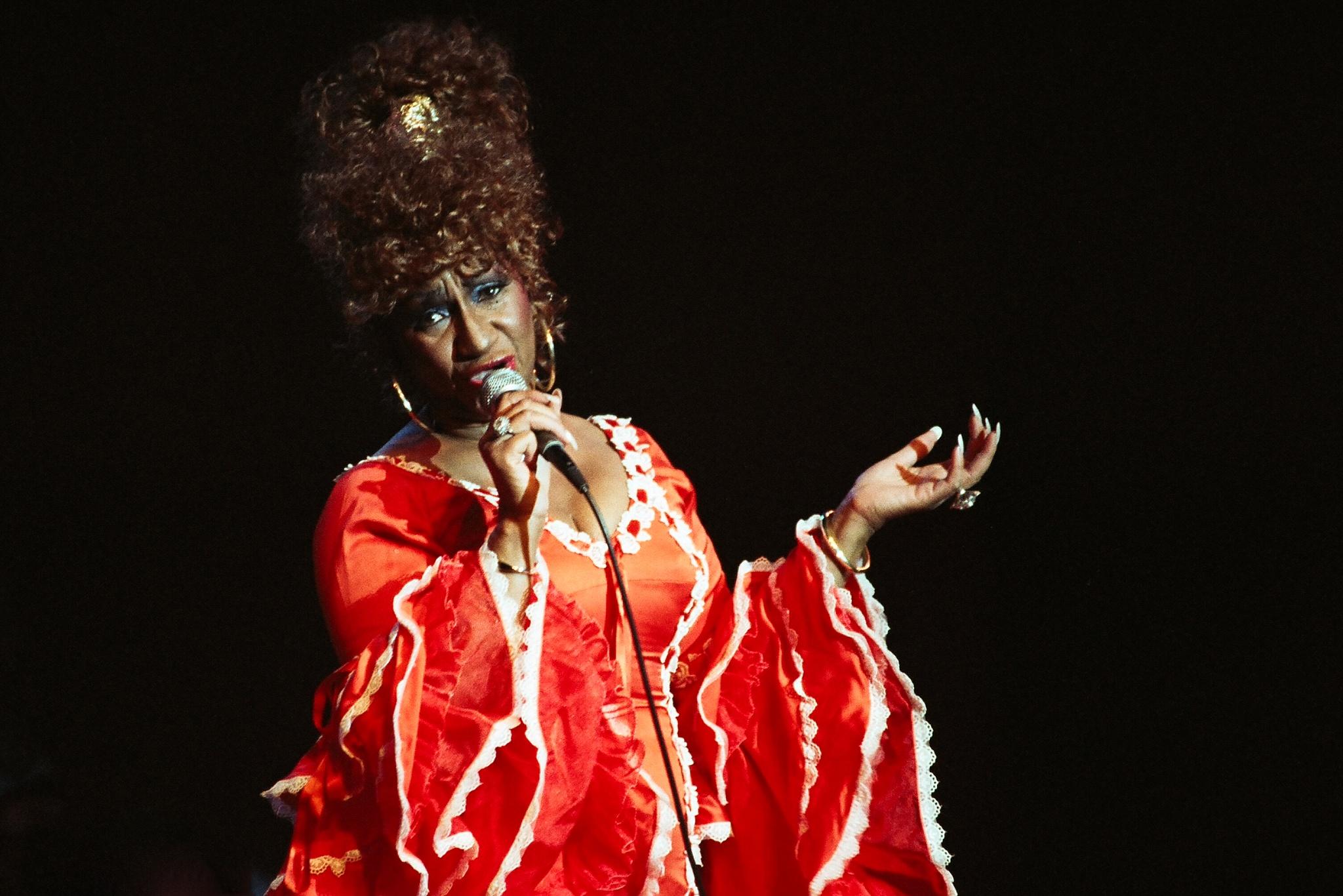 Ms Celia Cruz  1995  by Mario Muyet