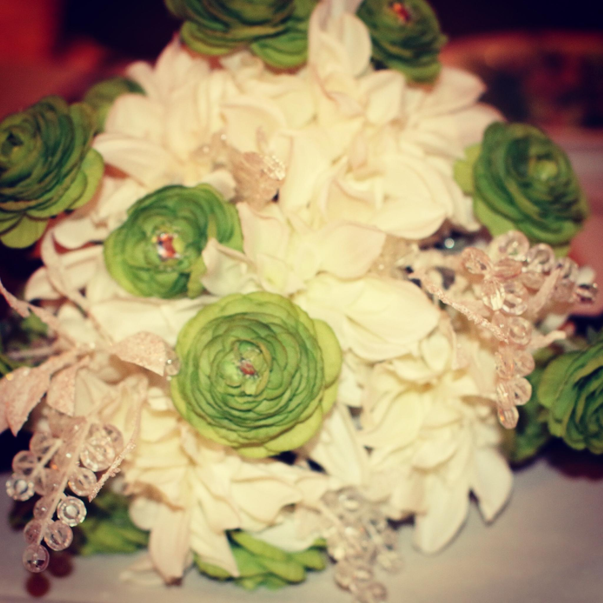 Wedding Bouquet by Melinda Braccia