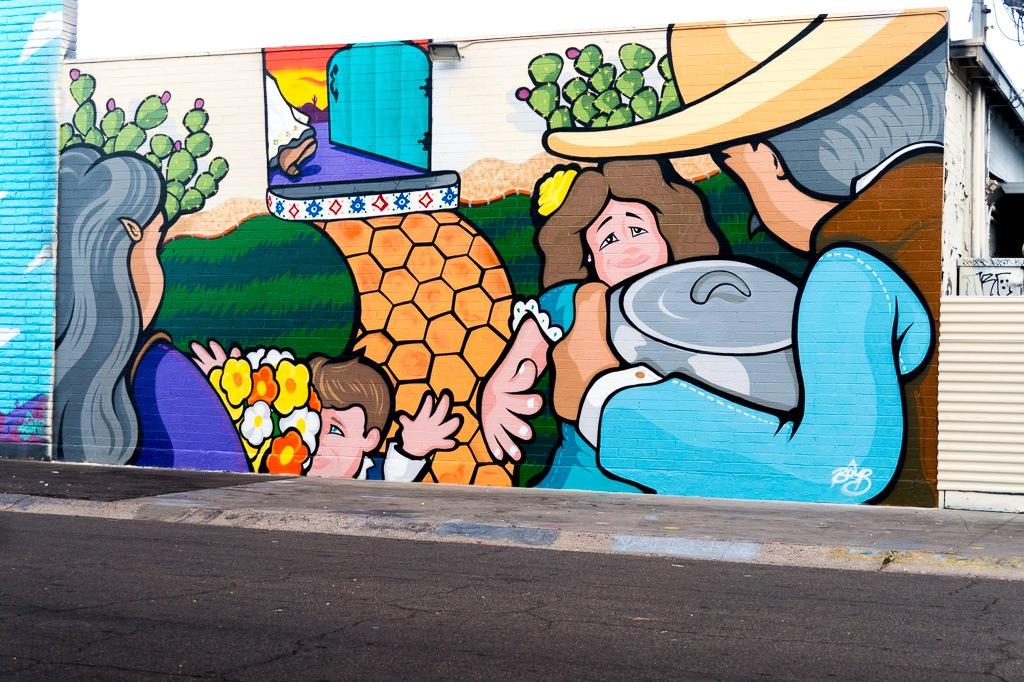 E Camelback Street Art by Jeff Kenerly