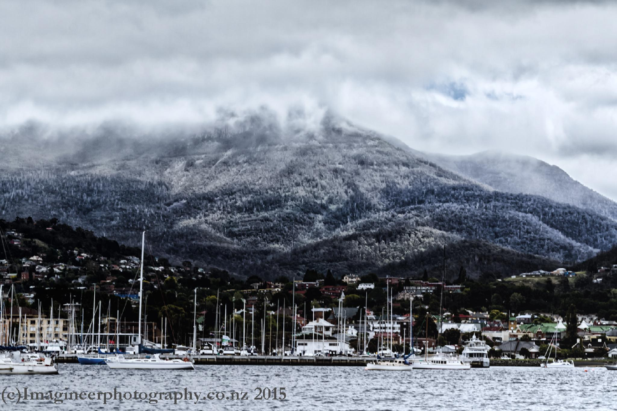 Hobart Harbour by Bobby Stubblefield