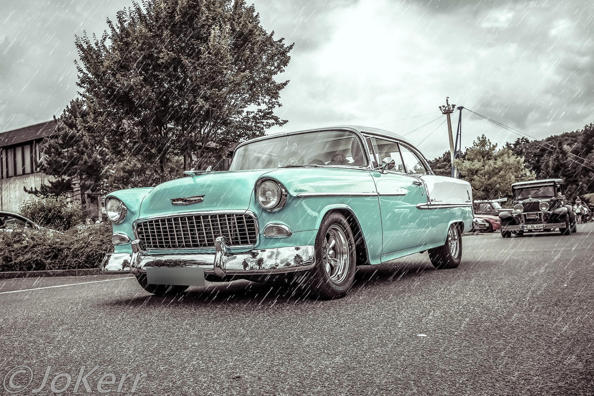 Chevy Bel Air by Jo Kerr