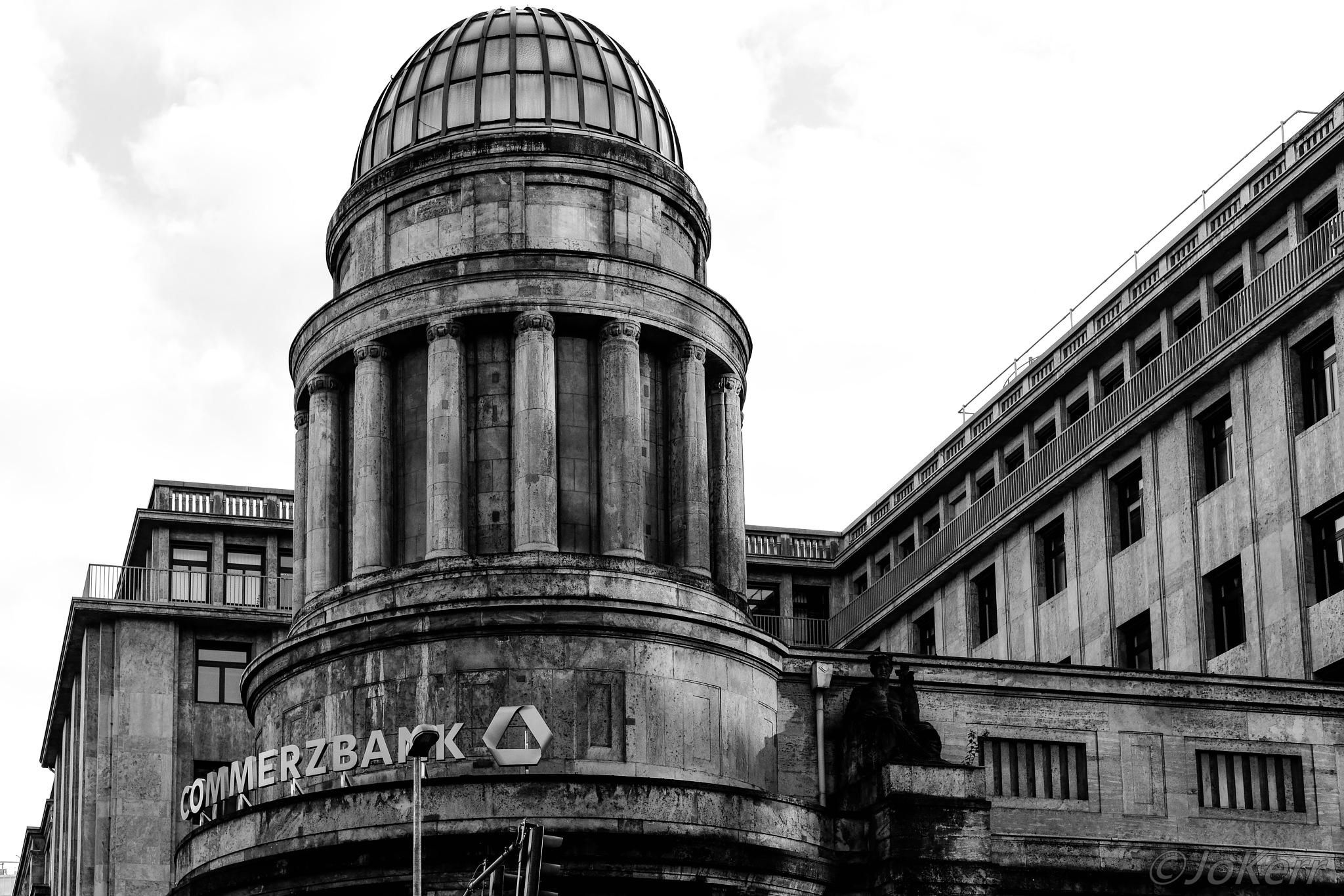Commerzbank by Jo Kerr