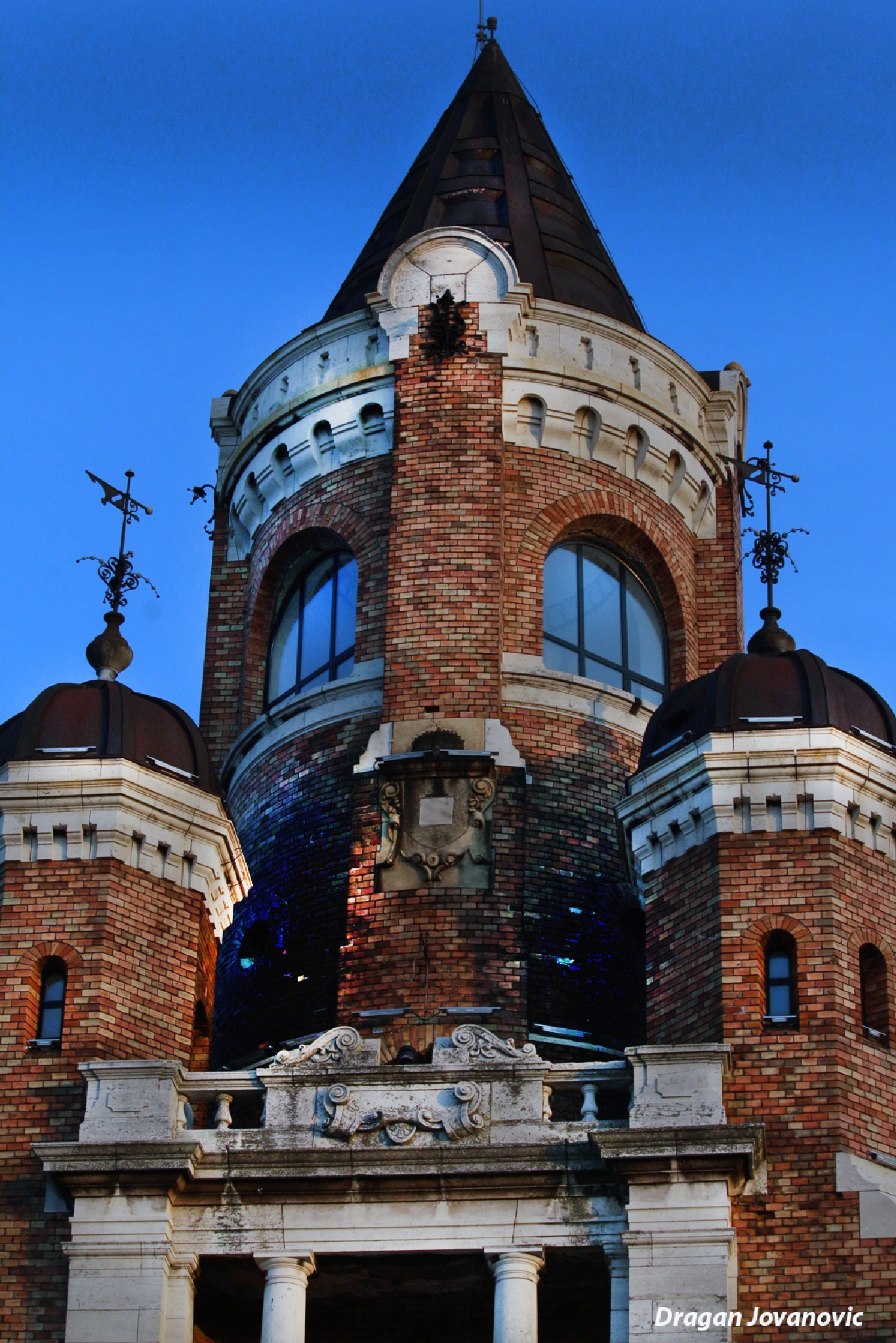 TOWER IN OLD PART ON BELGRADE - SERBIA by espanol1950