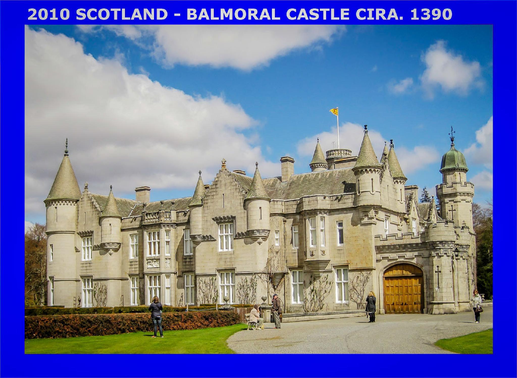 Ballmoral Castel Scotland  May 2010 by Karjon