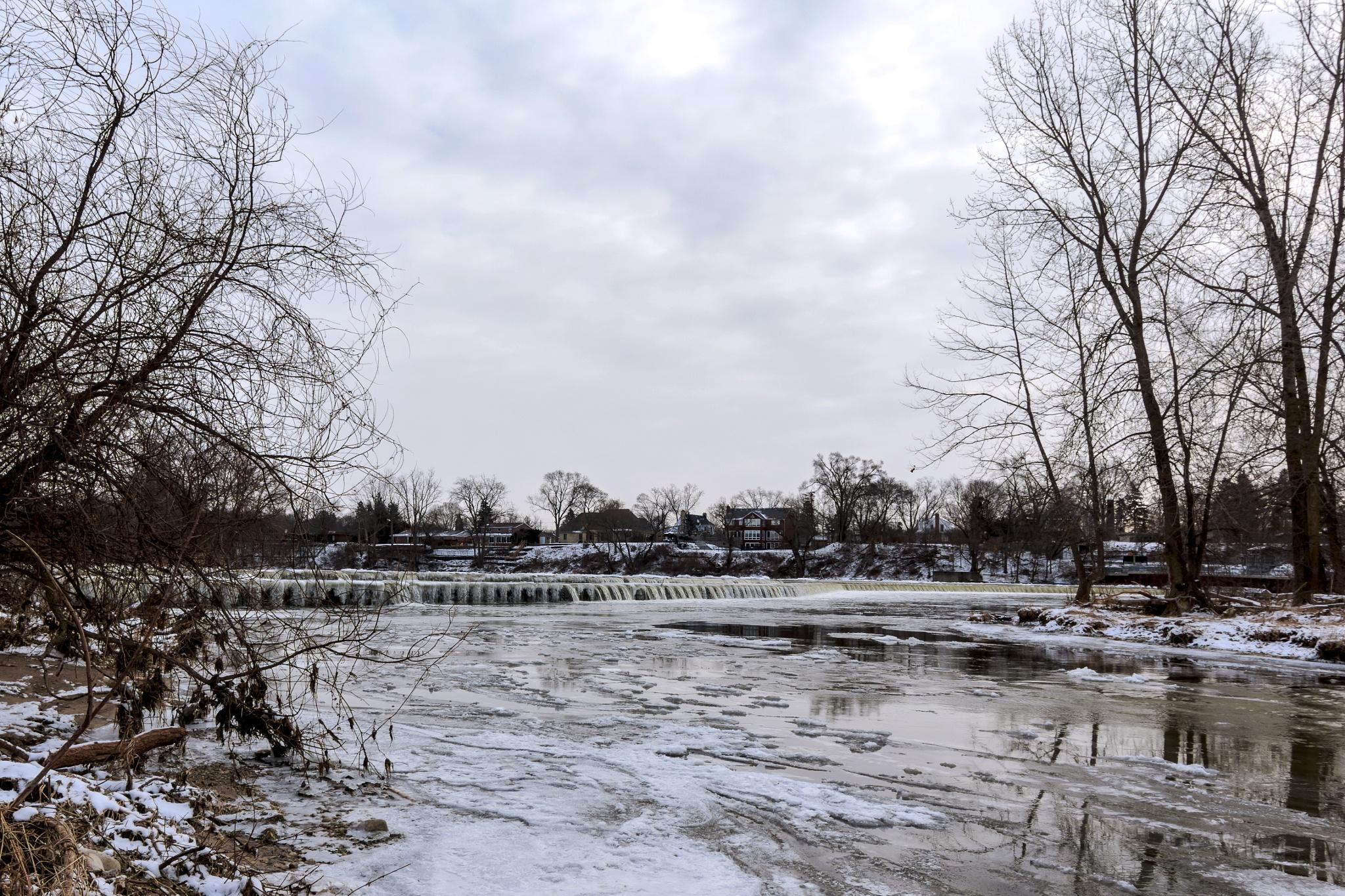 Wilkes Dam Brantford by Dave Bremner