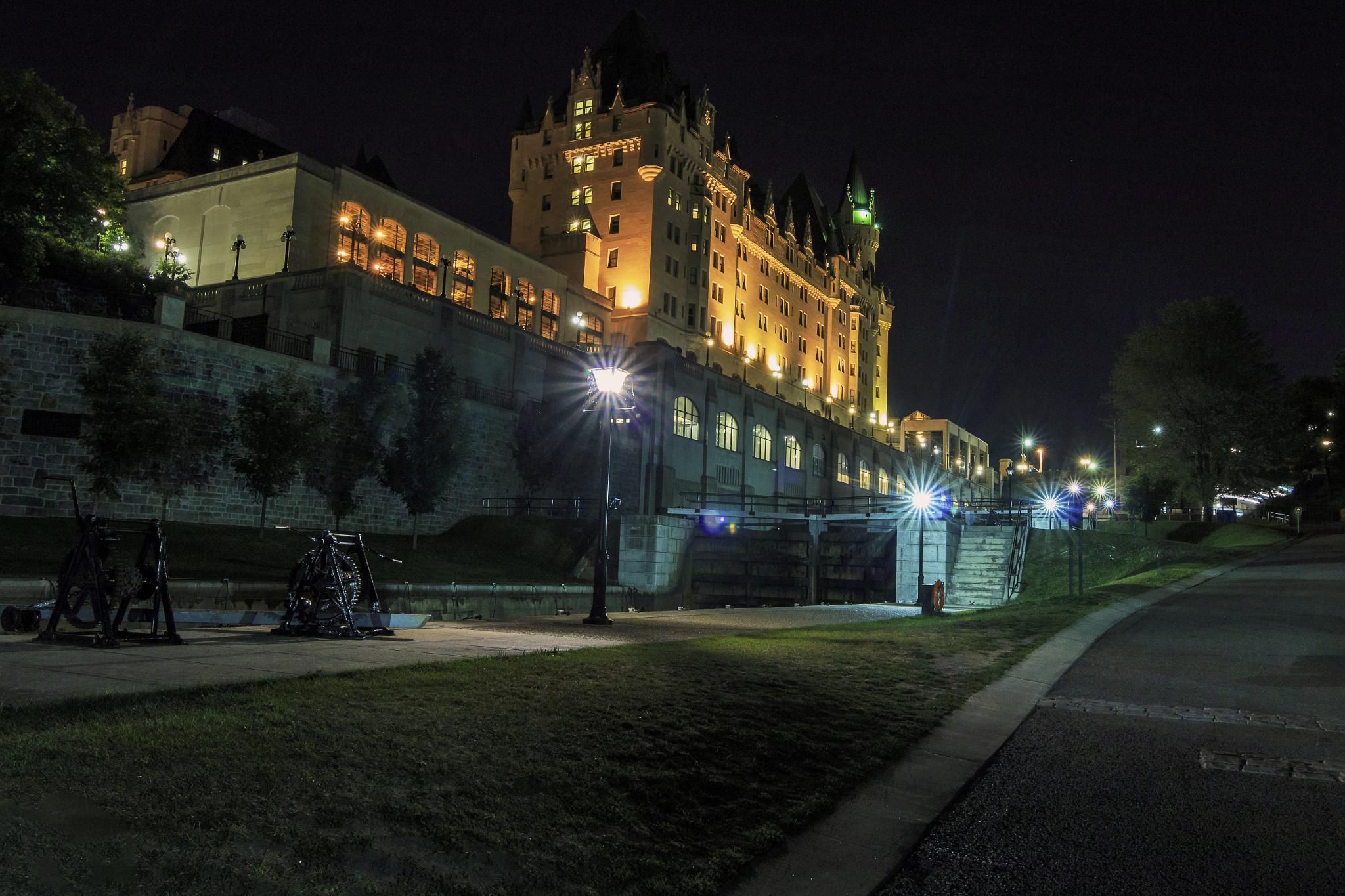 Rideau Canal Ottawa by Dave Bremner
