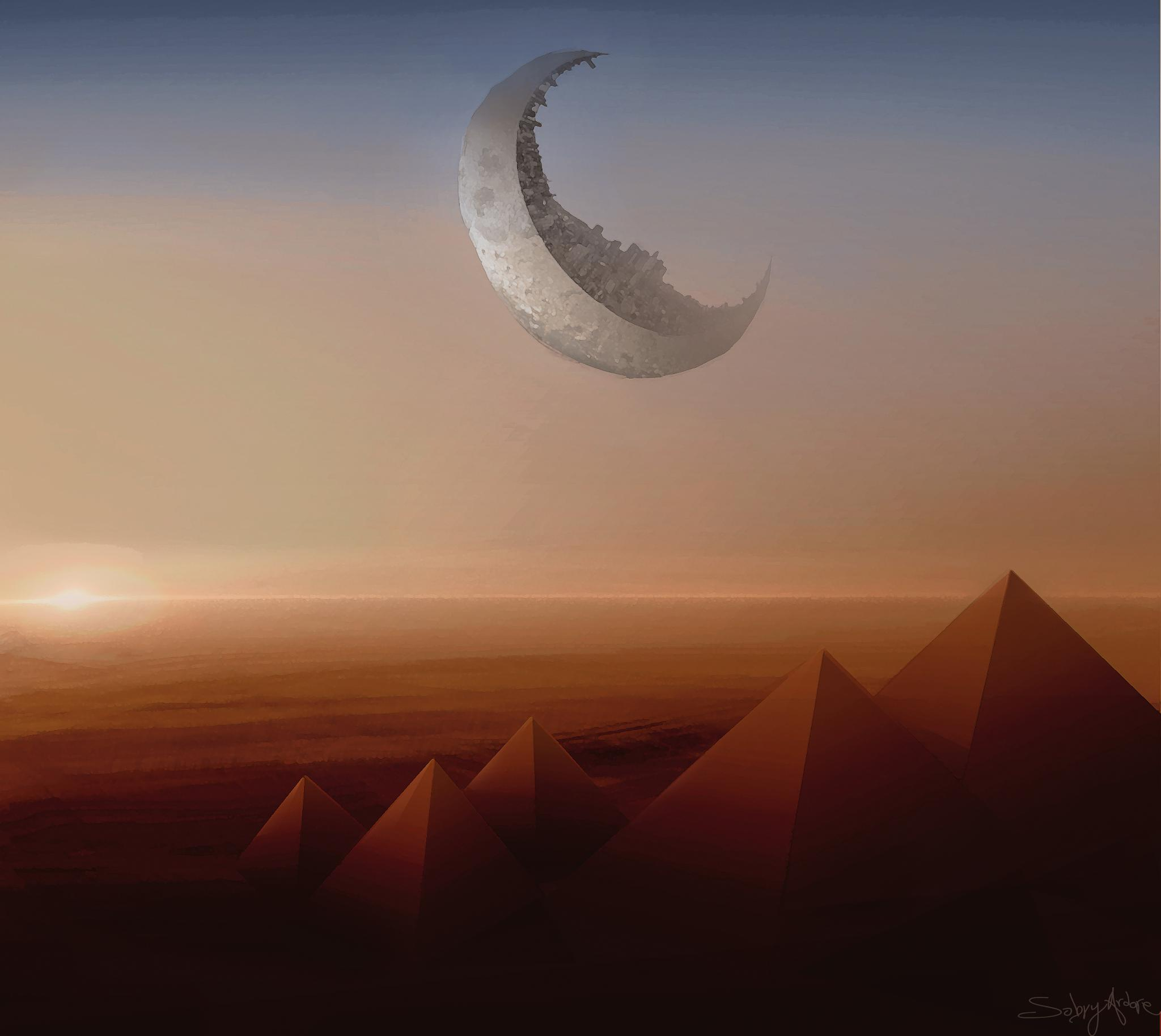 Pyramids by Sabry Ardore