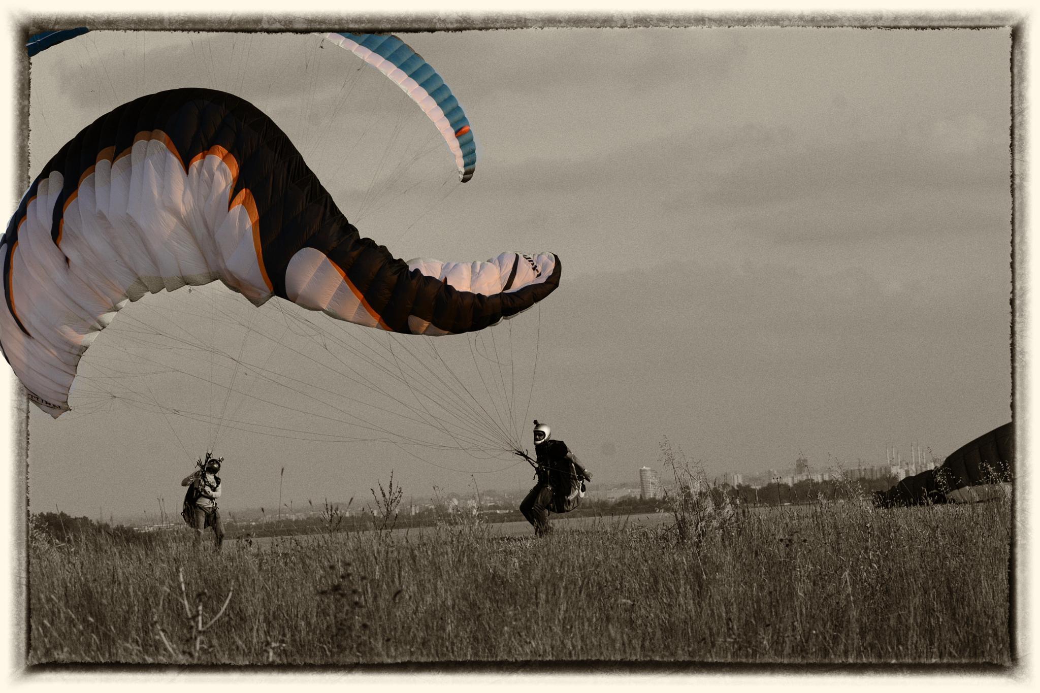 Parachute by ElcinYoldascan