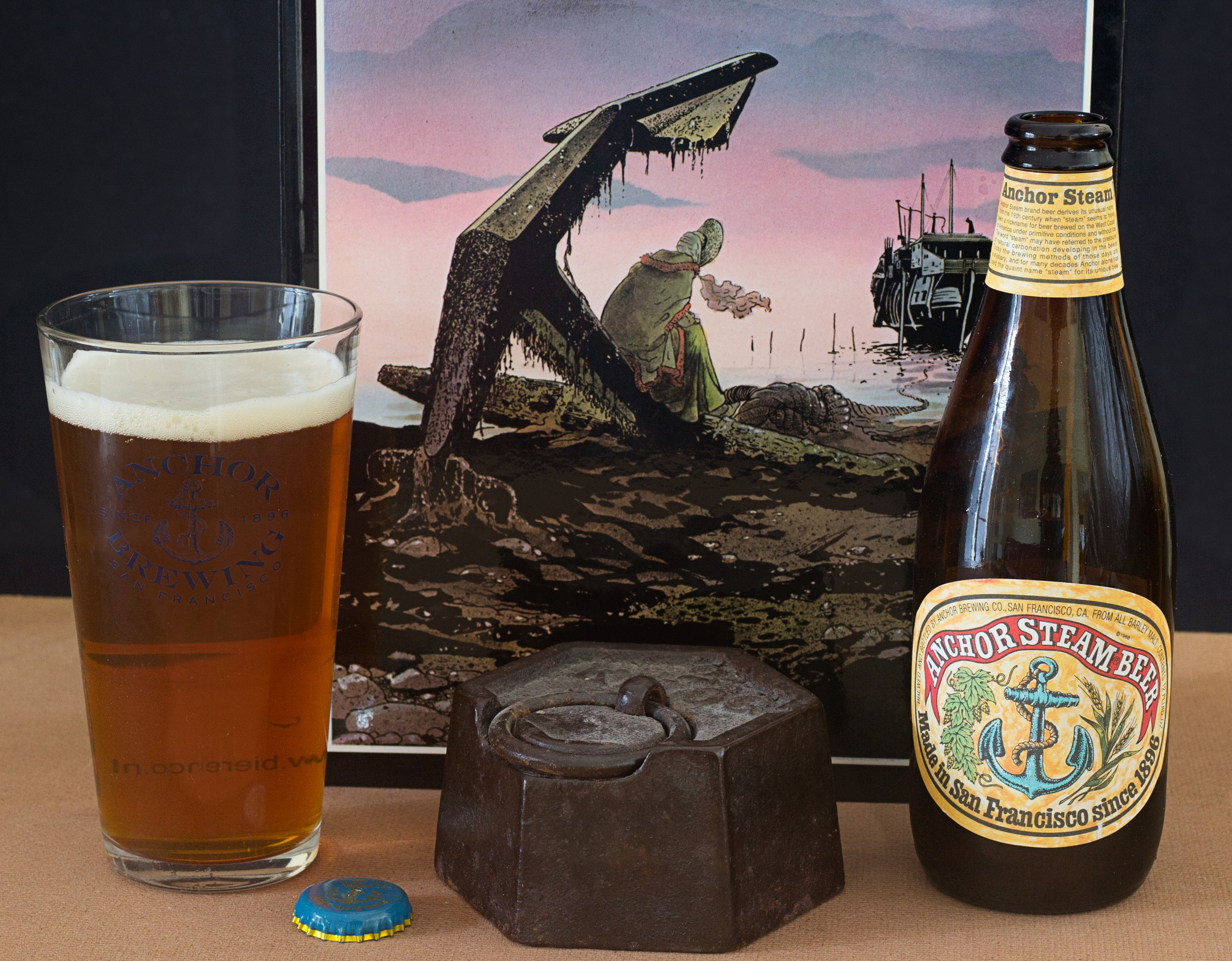 Anchor Steam Beer by Franck Rouanet