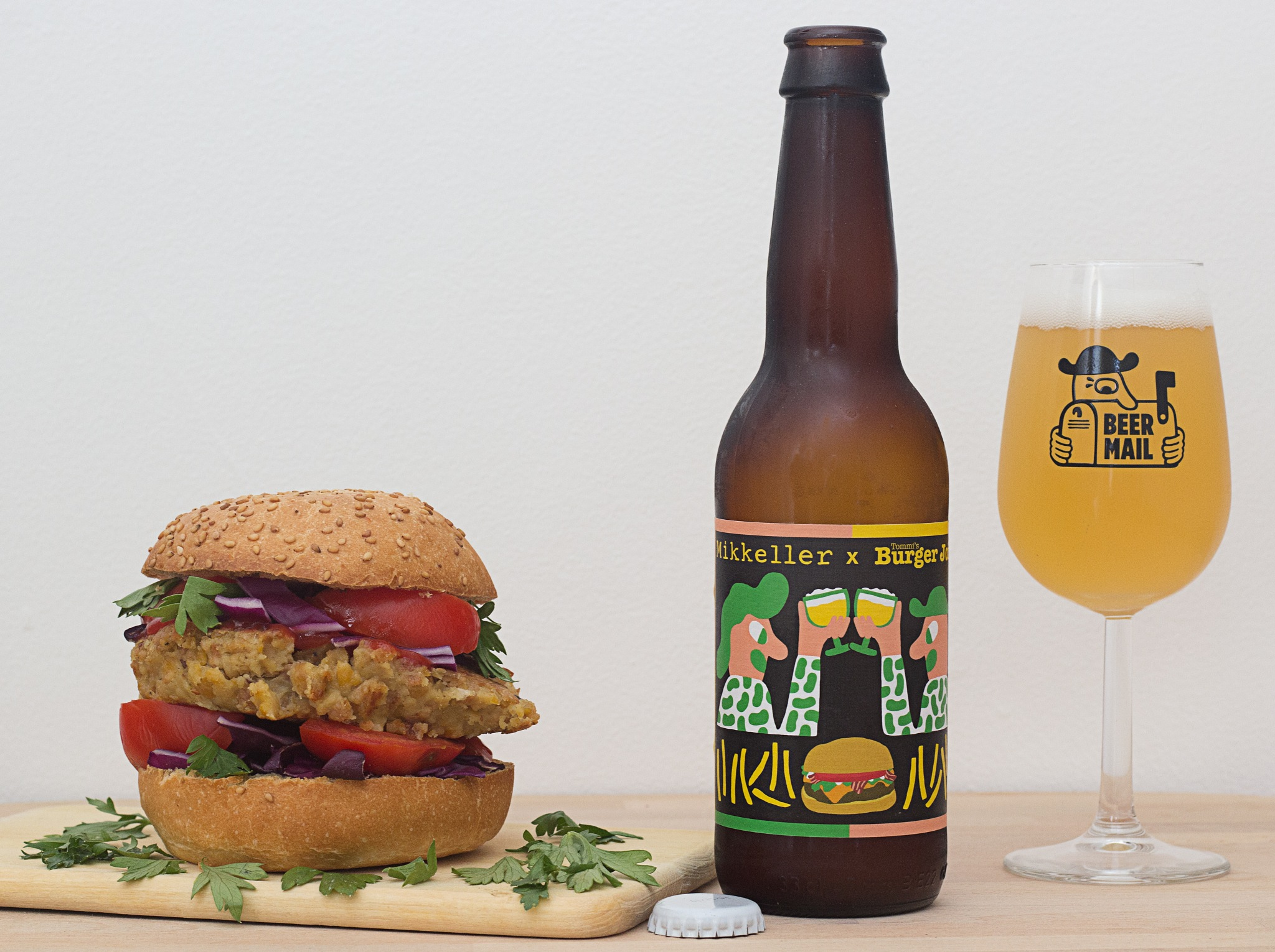 Beer by burger lovers... for burger lovers & burger veggie by Franck Rouanet