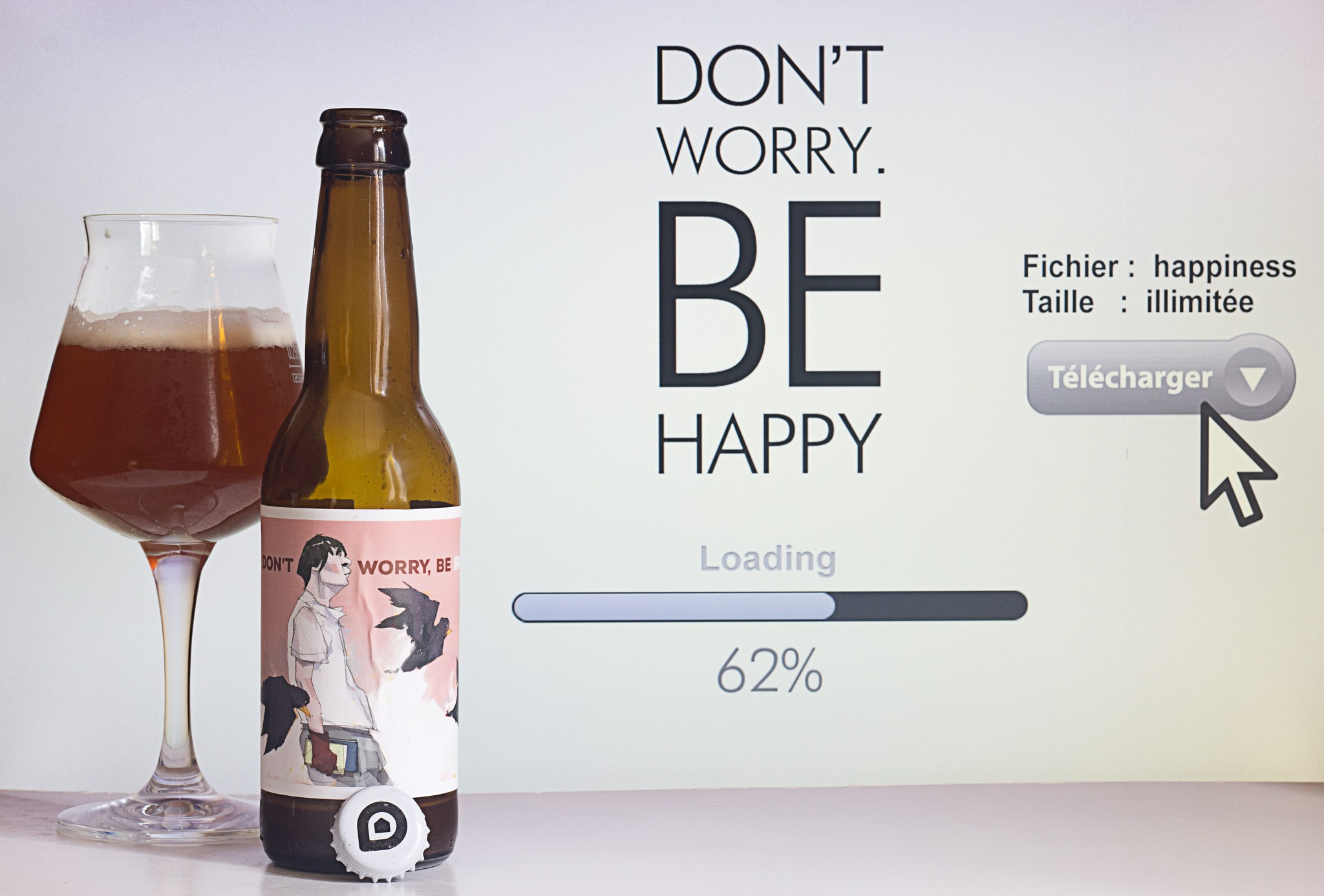 Don't Worry, Be IPA by Franck Rouanet