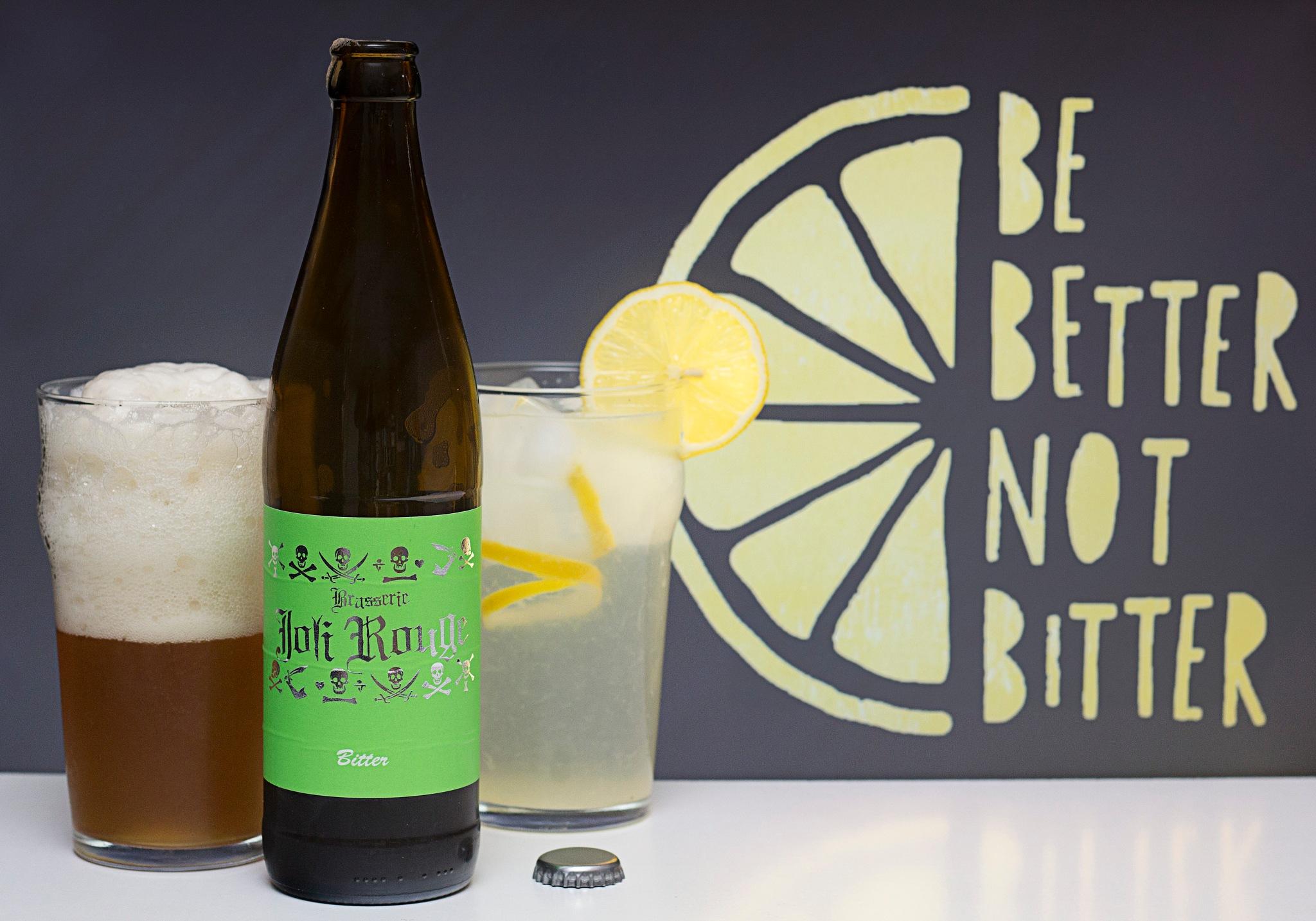 Bitter, citronnade - Be better not bitter by Franck Rouanet