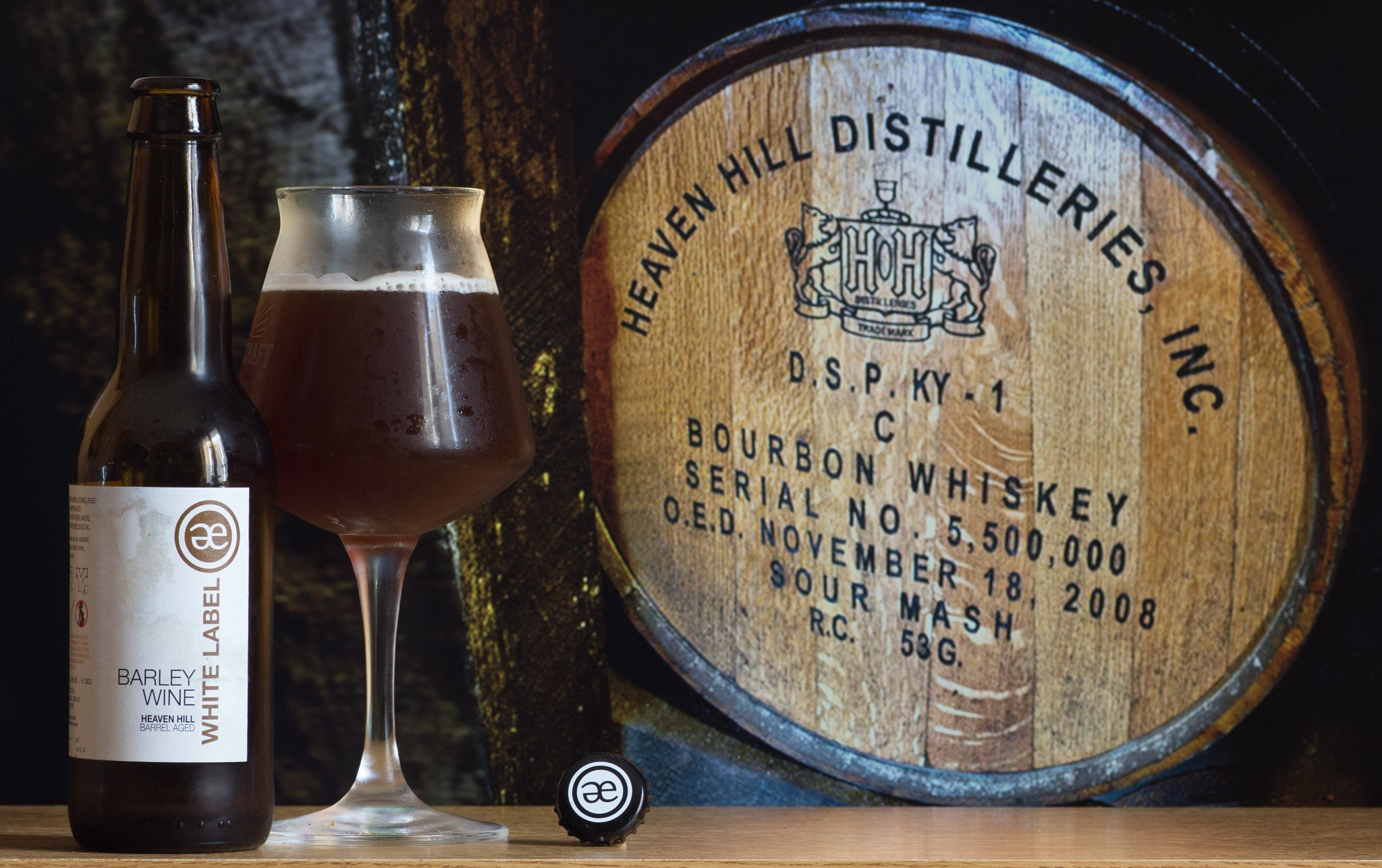White Label Heaven Hill Barrel Age by Franck Rouanet
