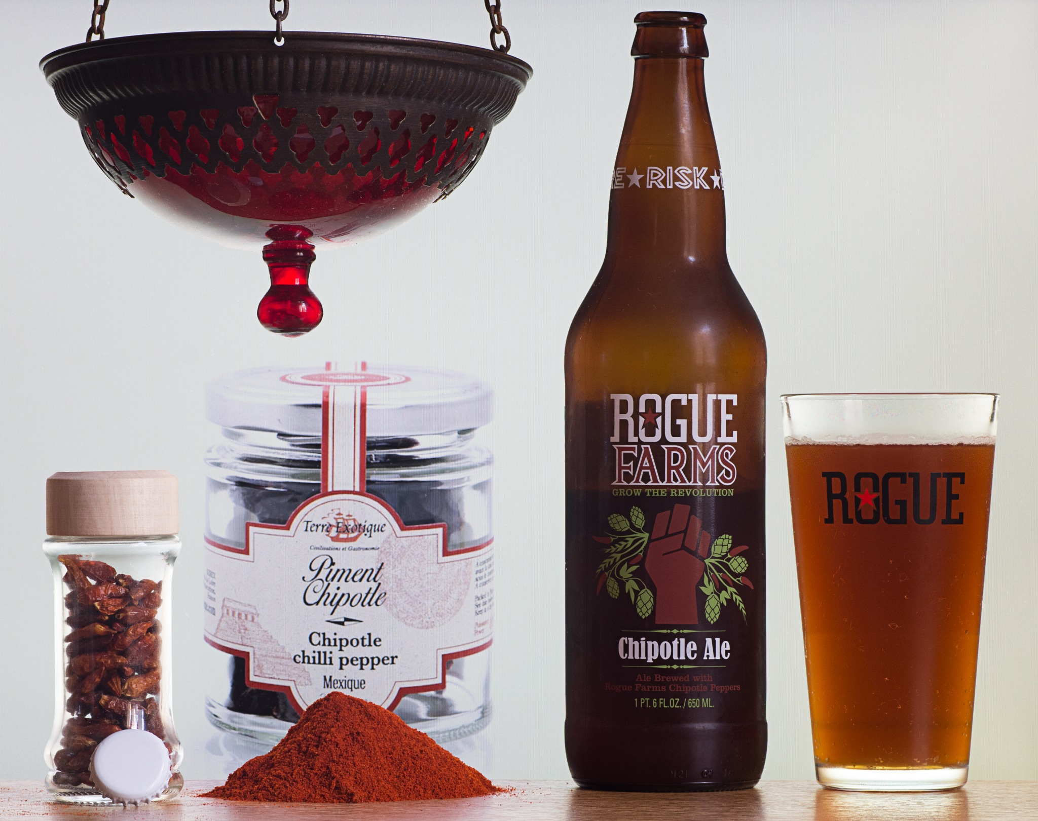 Rogue Farms Chipotle Ale by Franck Rouanet