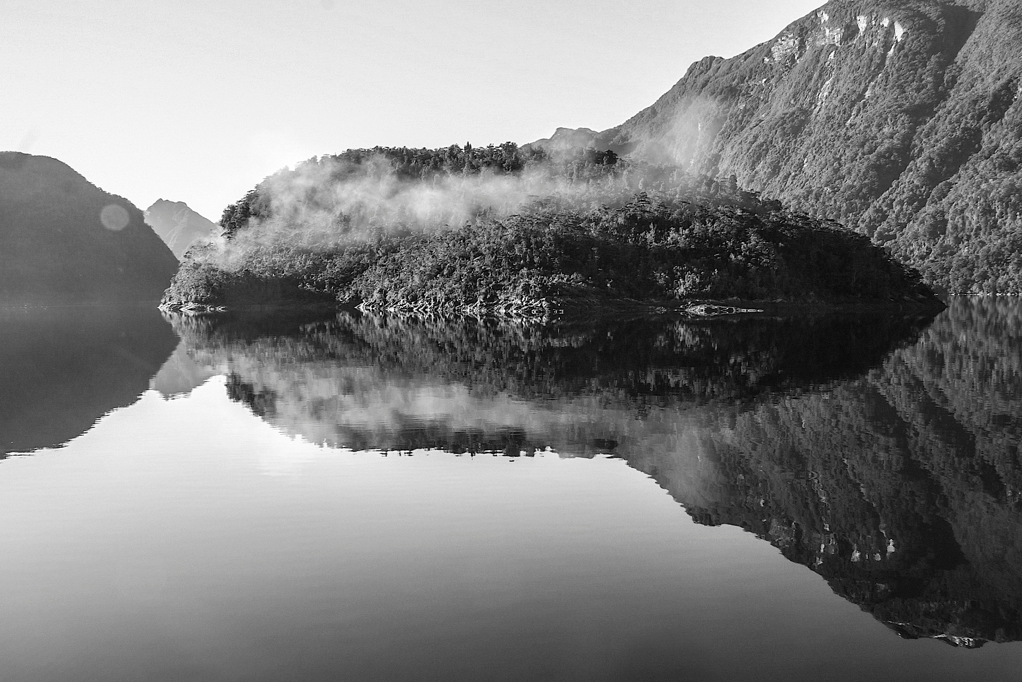 fiordland reflection by sonny_roger_sonneland
