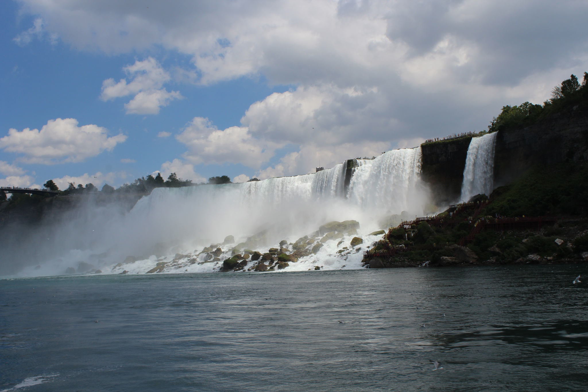 View of Niagara Falls by Lori Enfield
