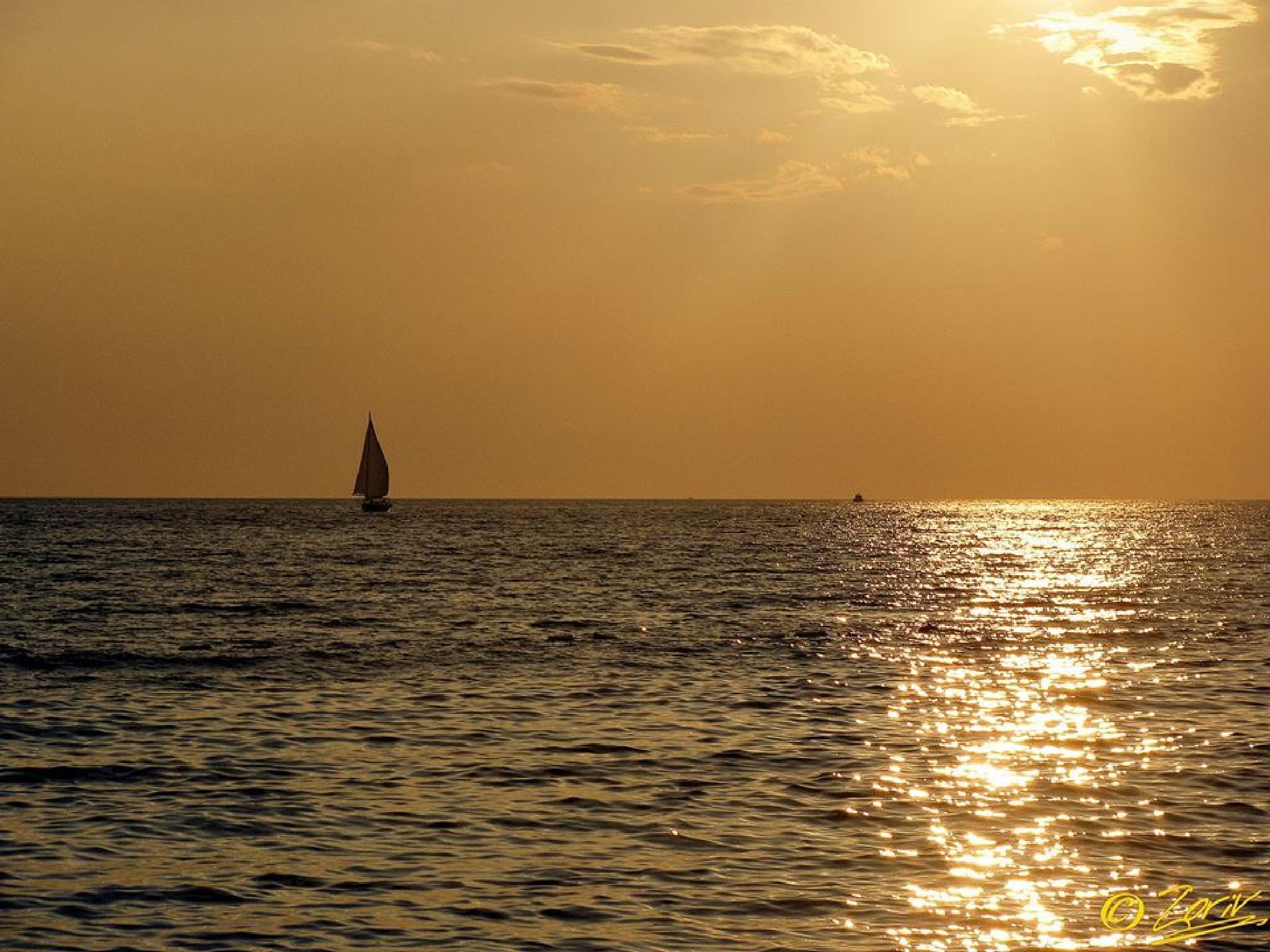Sunset Paradise, somewhere in Mid Dalmatia (Croatia) by zoriv