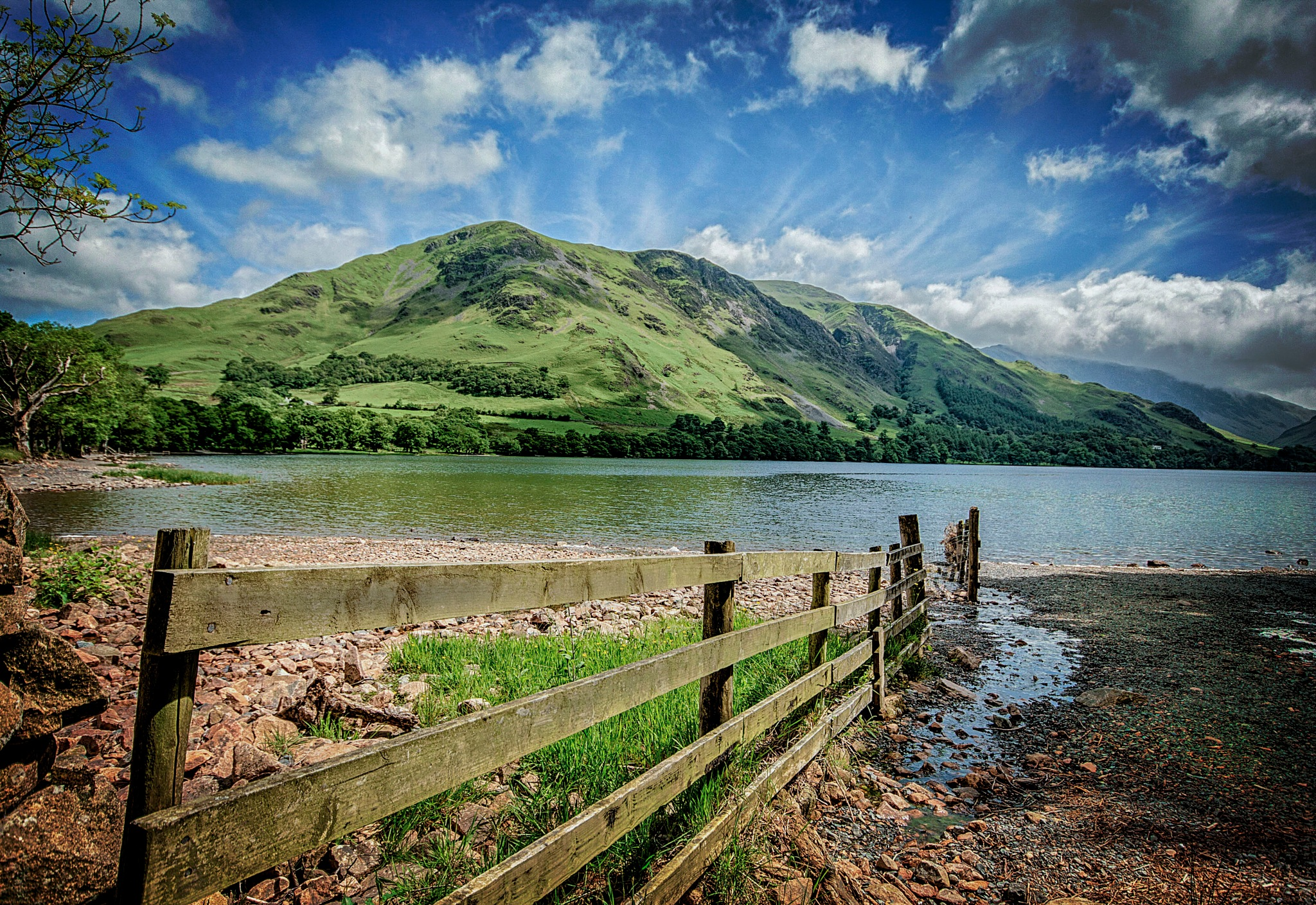 Buttermere fence by Willpower