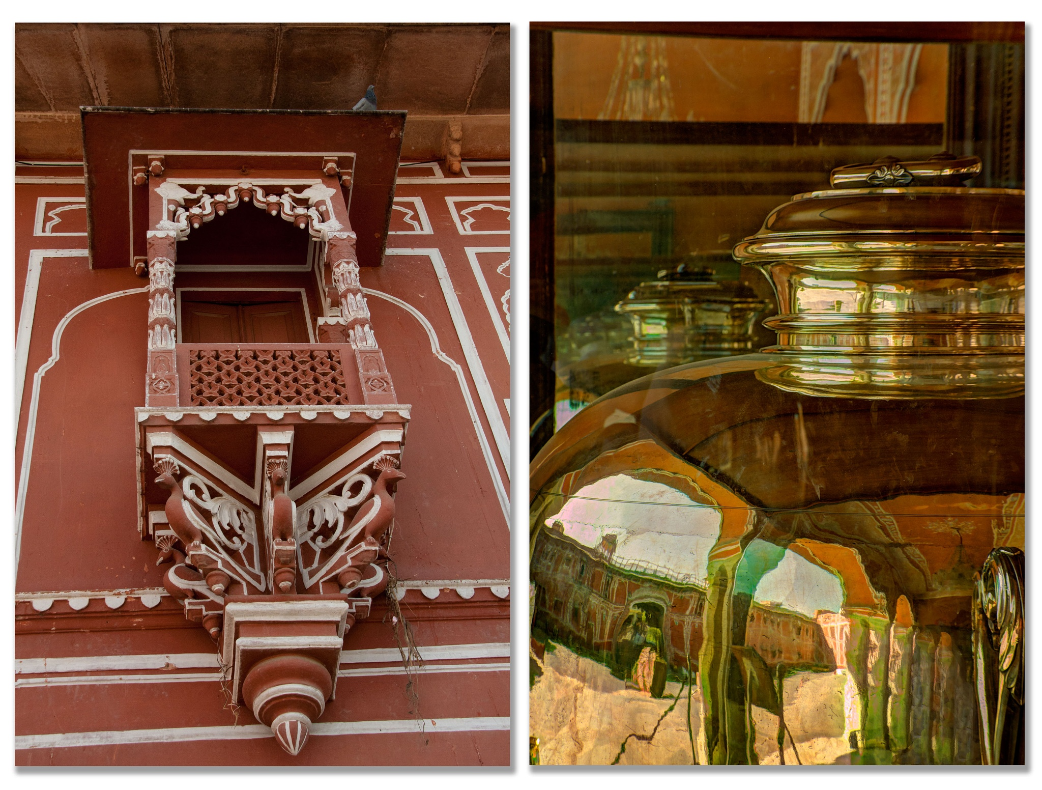 City Palace Jaipur  / Silver Urn by Willpower