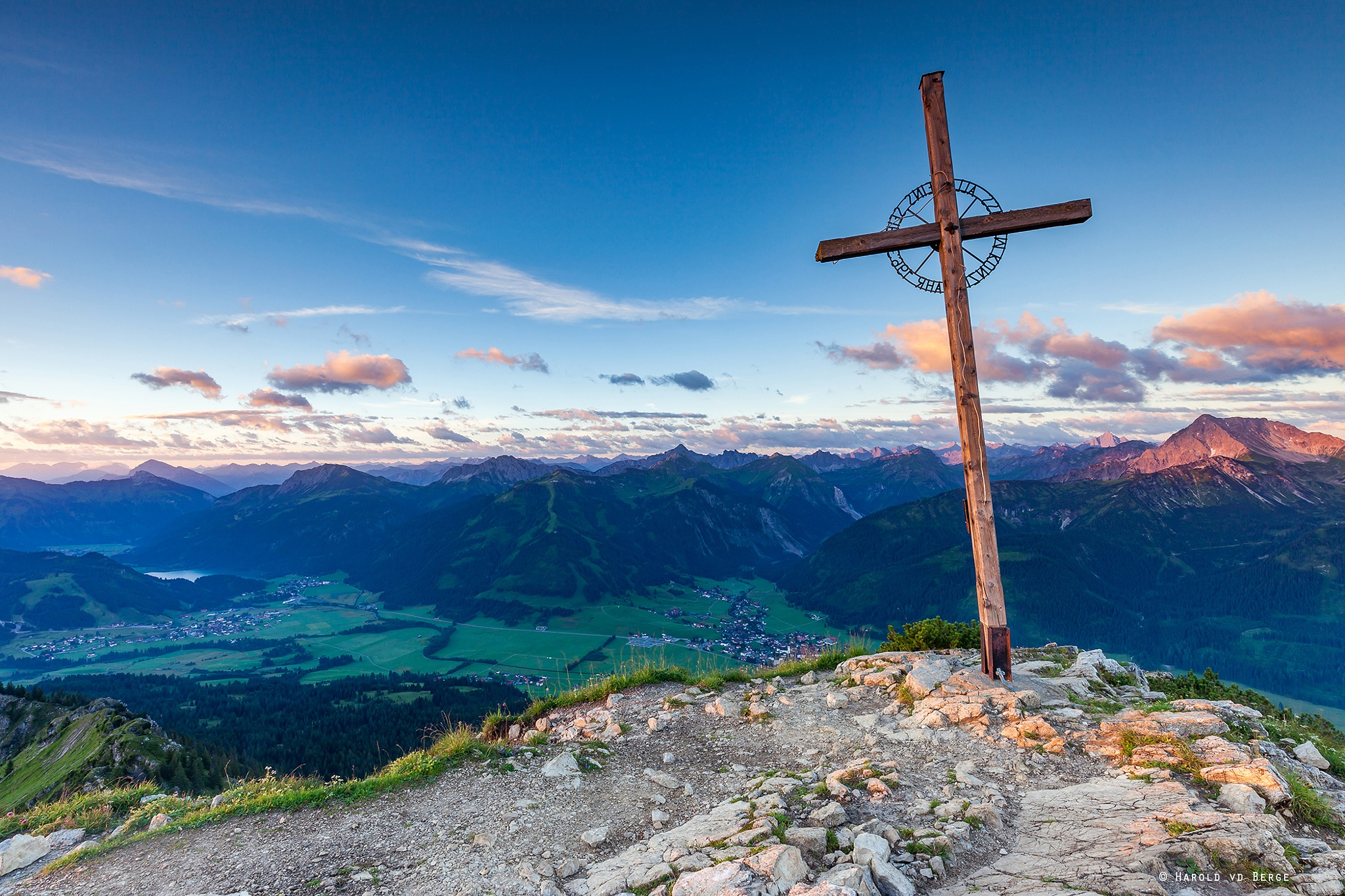 The Summit by Harold van den Berge