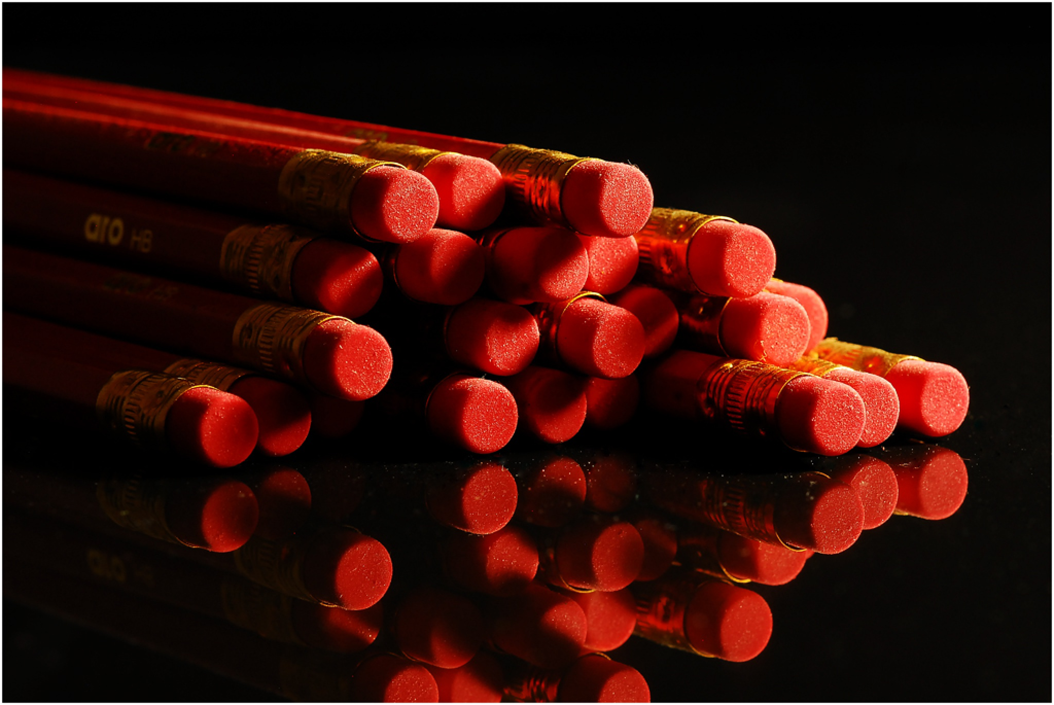 Red Pencils by Bertie Price