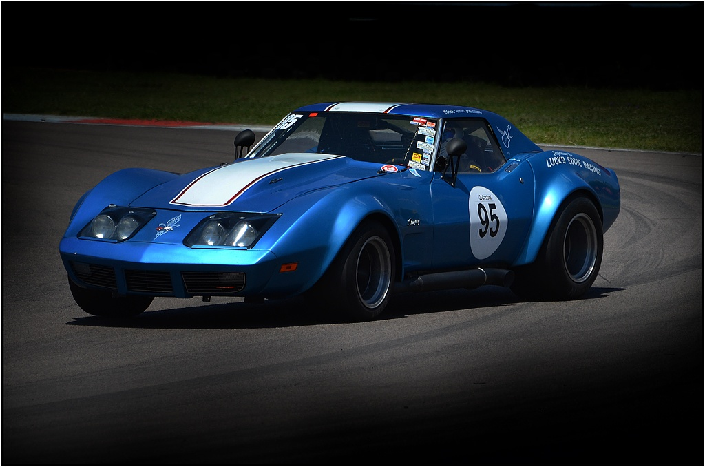 Sideways Corvette by Bertie Price
