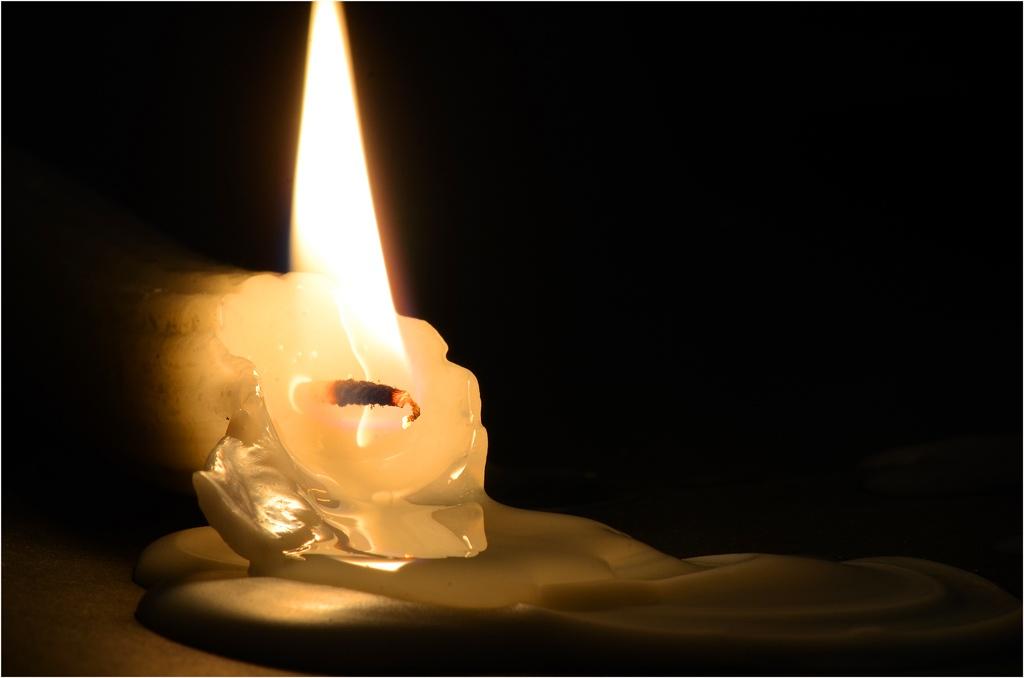 Photo in Fine Art #liquid #candle #wax #wick #light